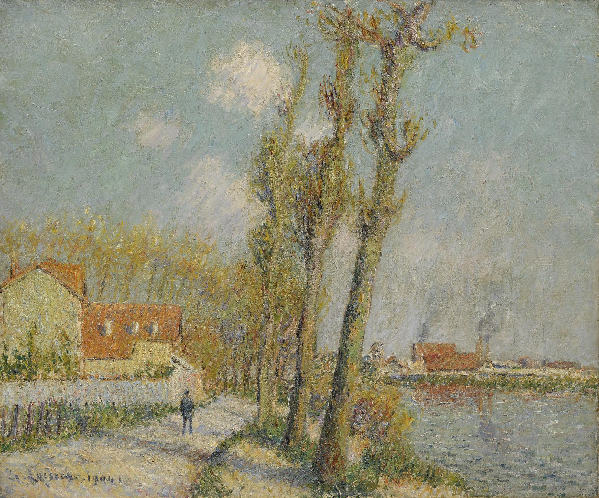 Gustave Loiseau-Loise A Pontoise-1904