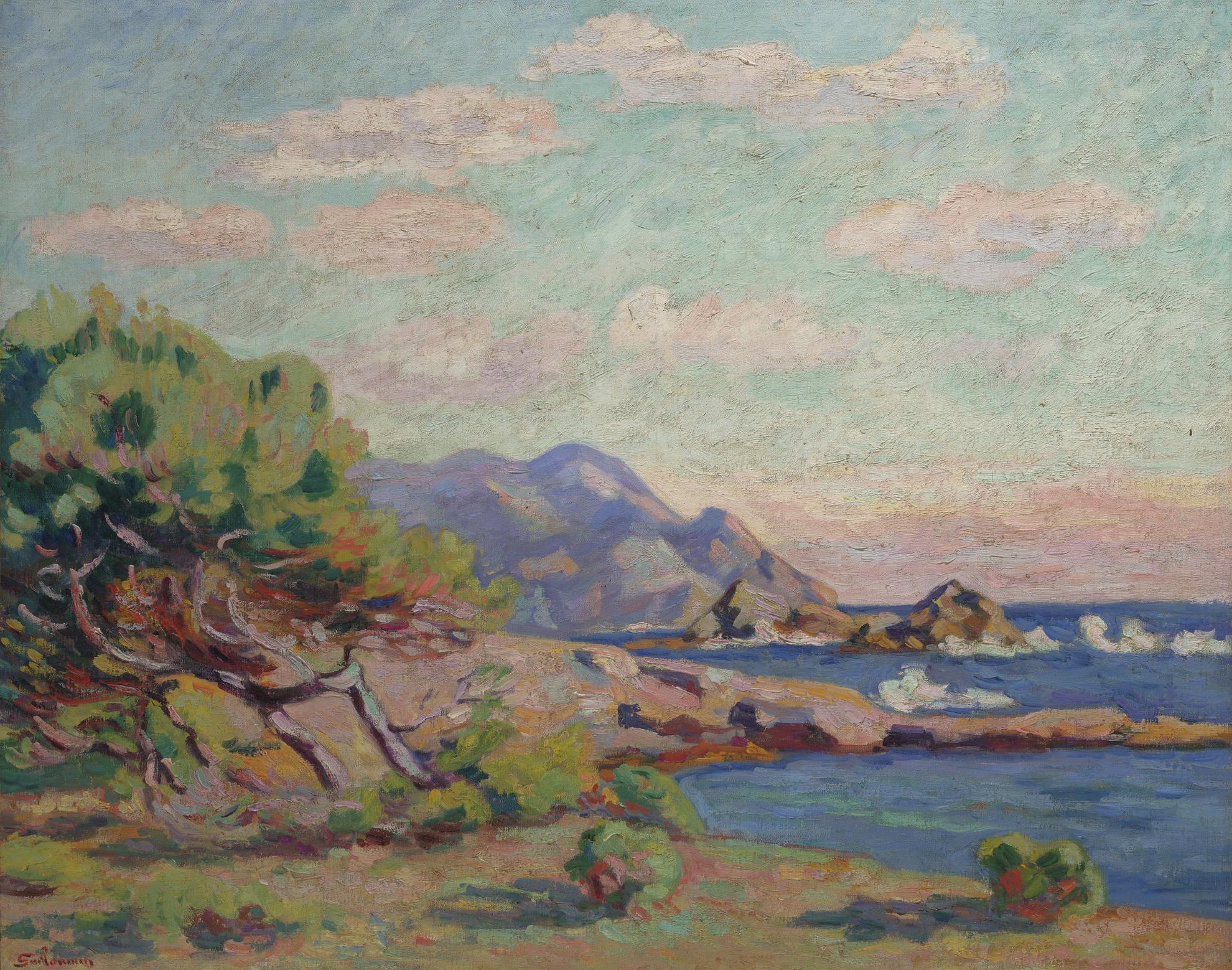 Jean-Baptiste Armand Guillaumin-La Pointe Du Lou Gaou-1911