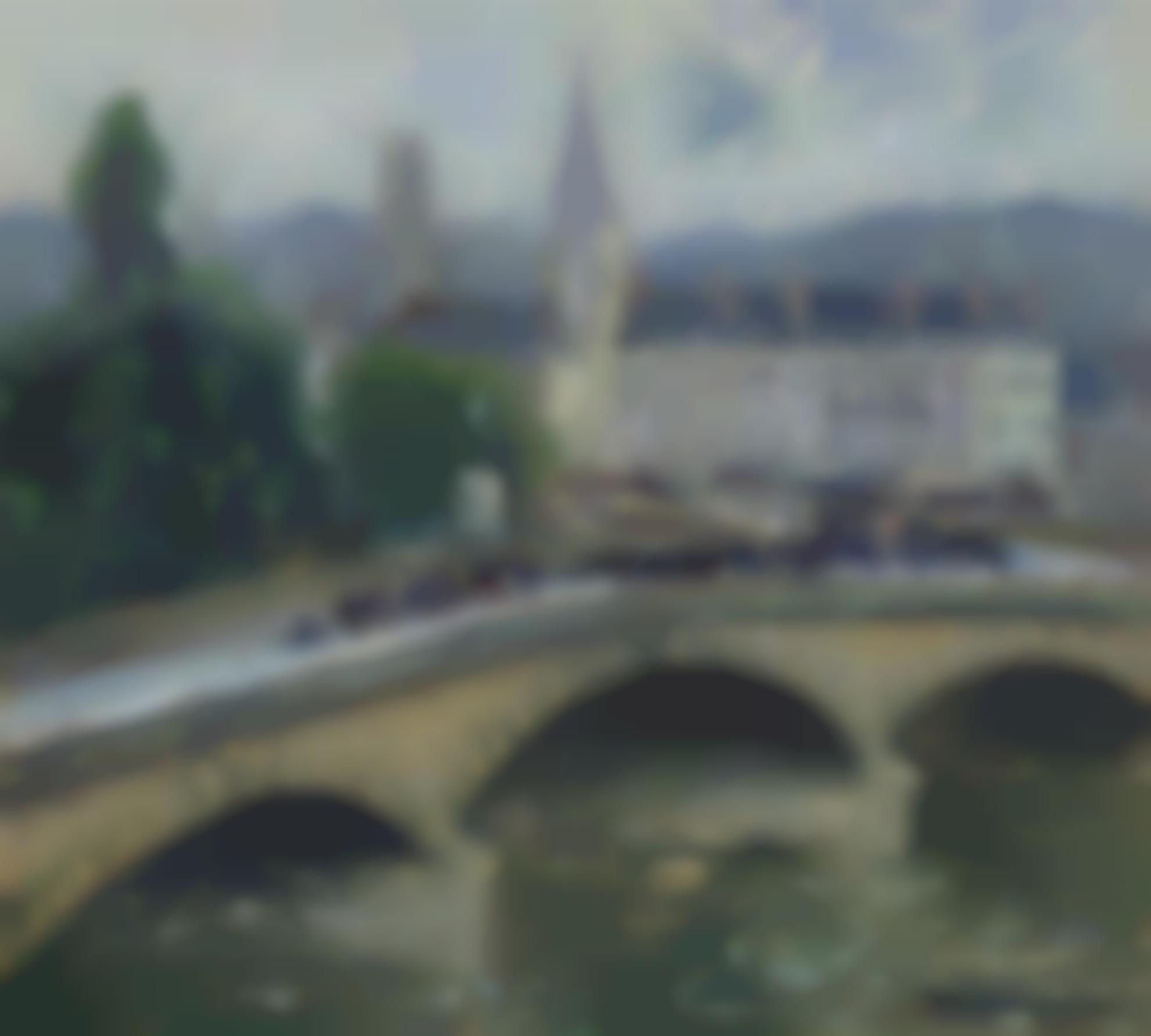 Gustave Loiseau-Rouen Le Pont Corneille-1927