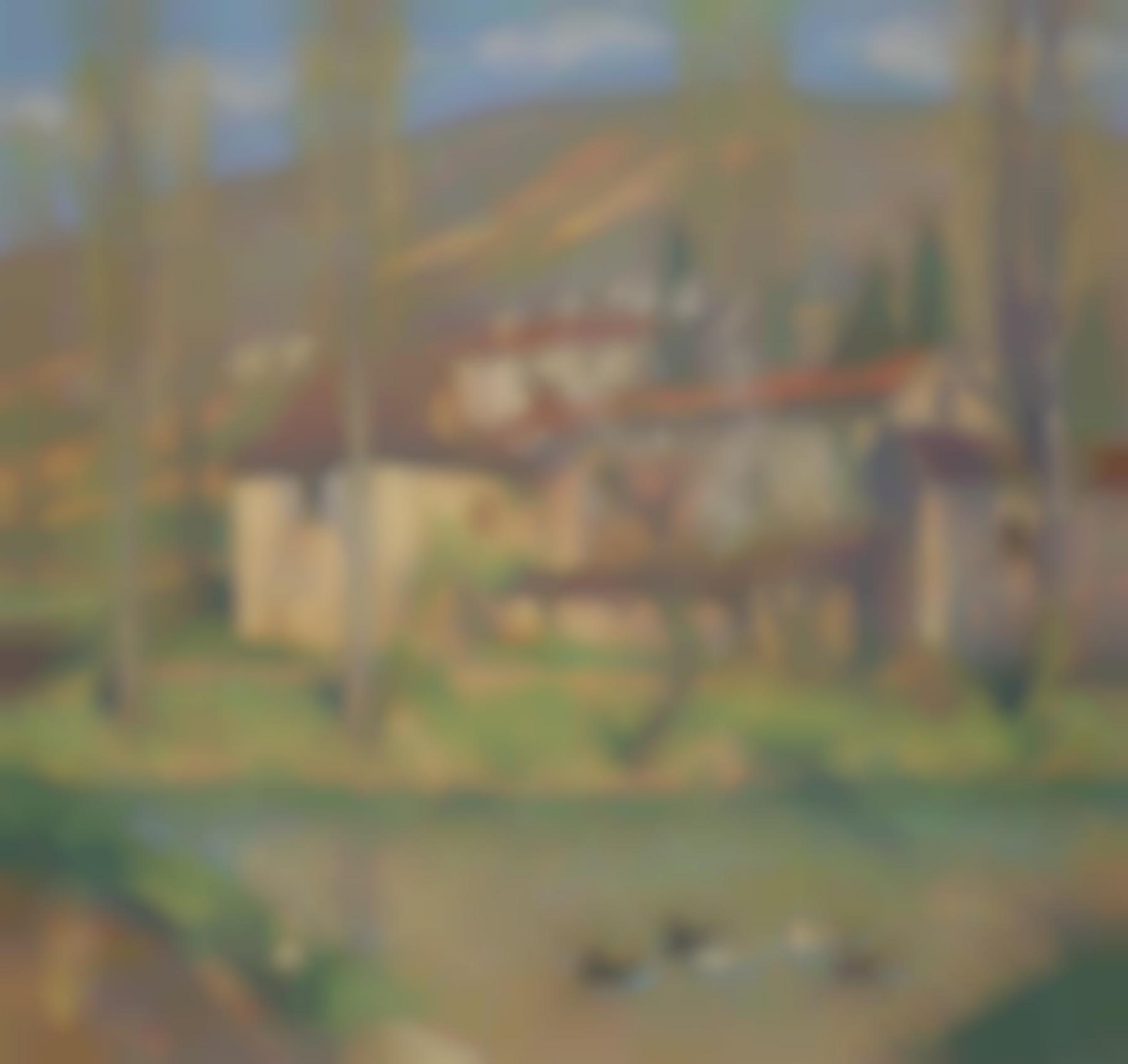 Henri Martin-La Maison Du Vert-1930