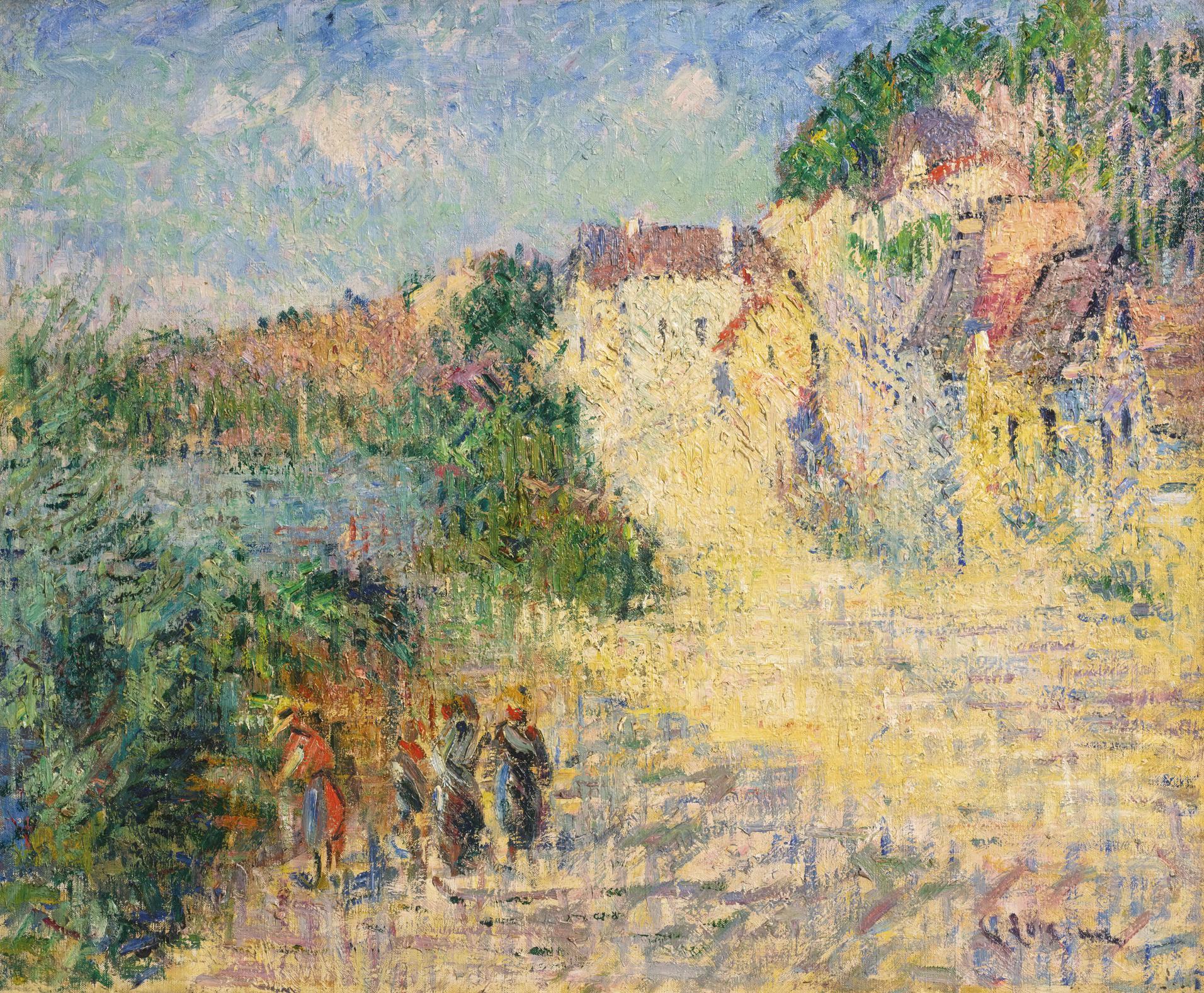 Gustave Loiseau-Paysage De Dordogne-1926