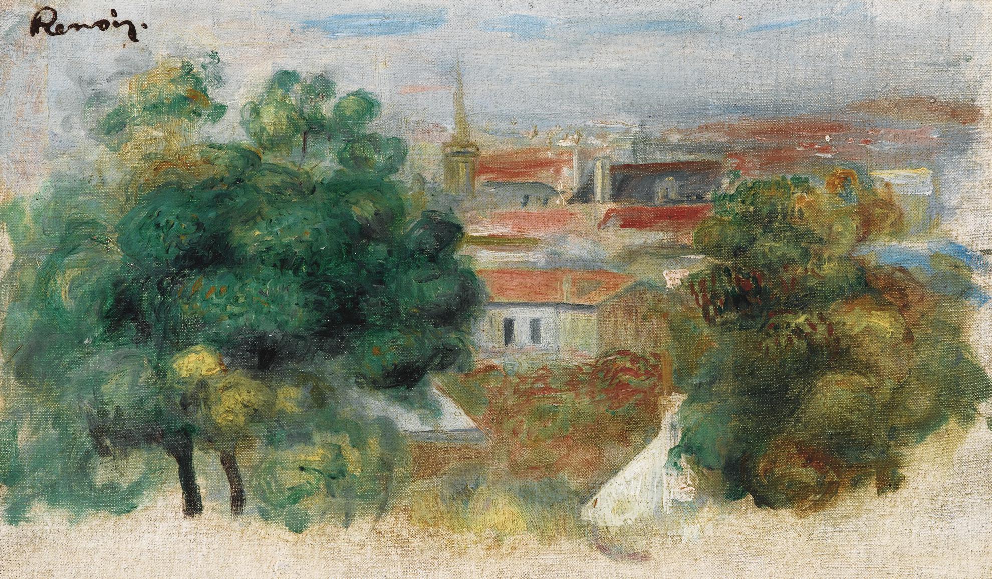 Pierre-Auguste Renoir-Paysage-1895