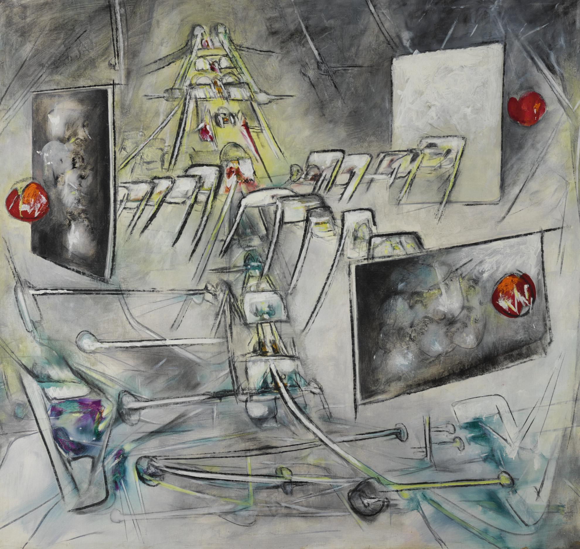 Roberto Matta-Le Tempete-1948