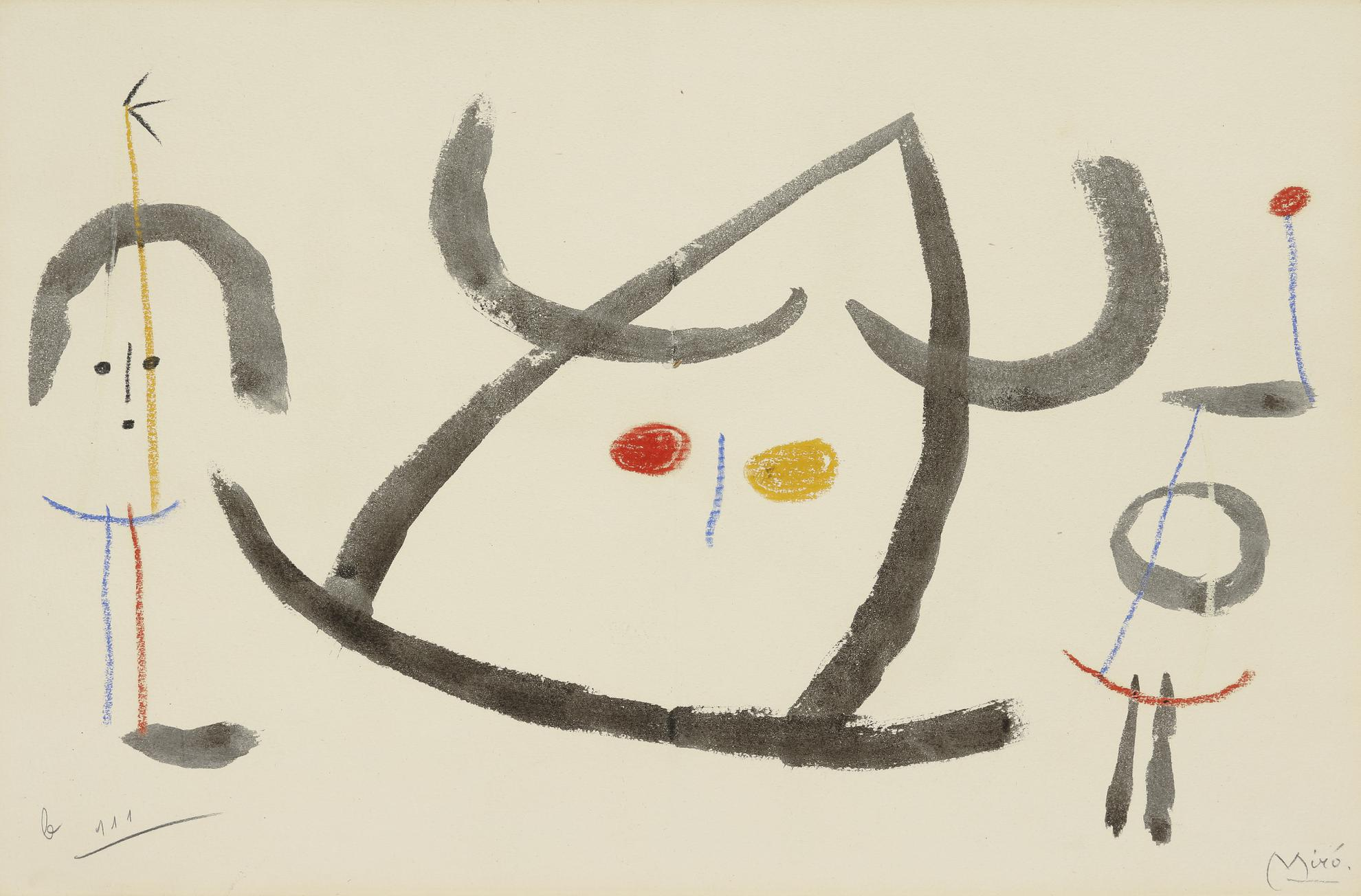 Joan Miro-Lenfance Dubu-1953