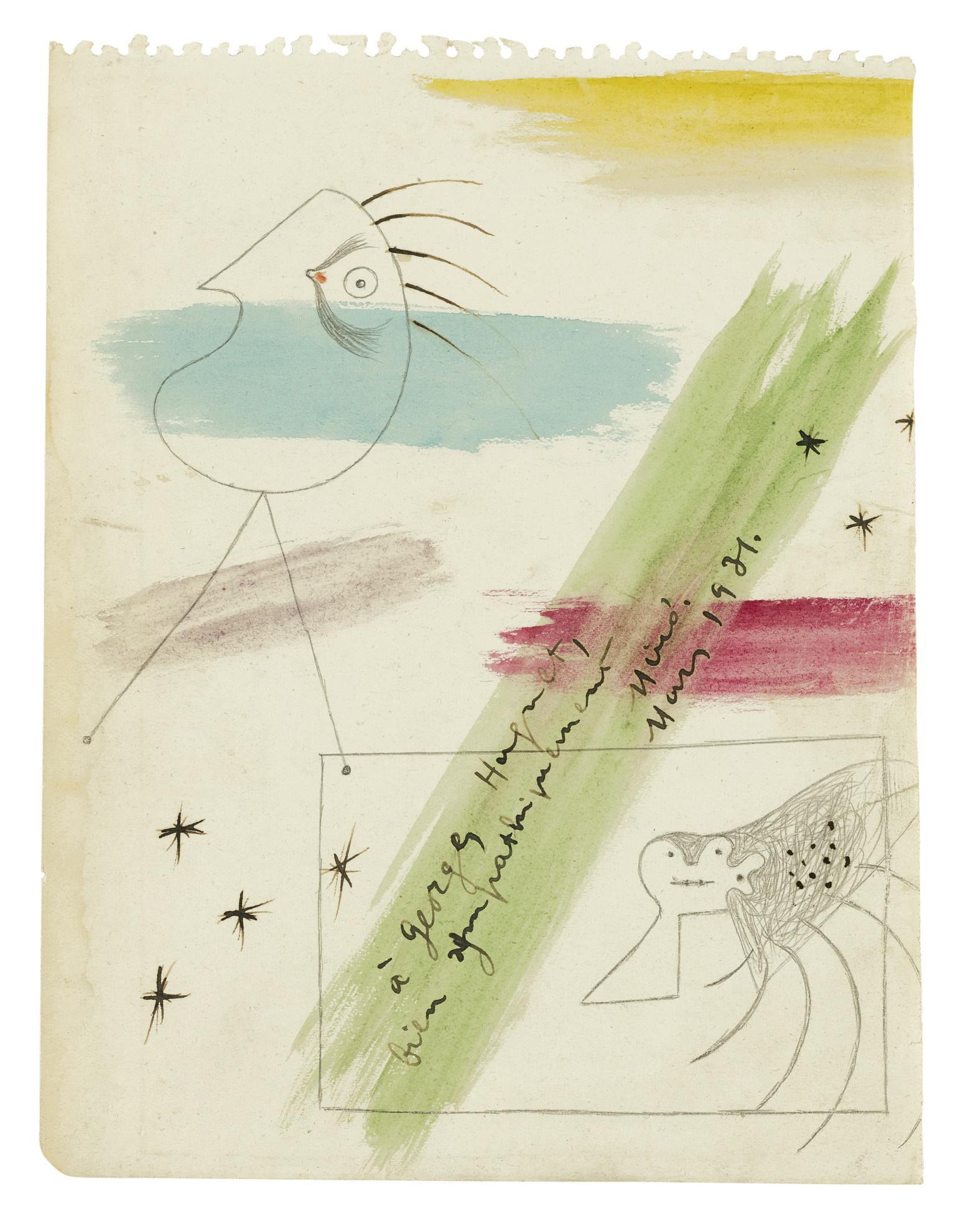 Joan Miro-Sans Titre-1931