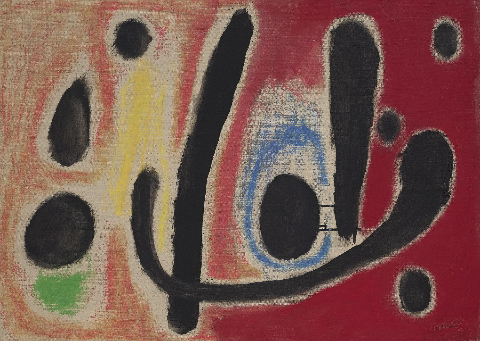 Joan Miro-Composition (Hommage A Edgar Varese I)-1959