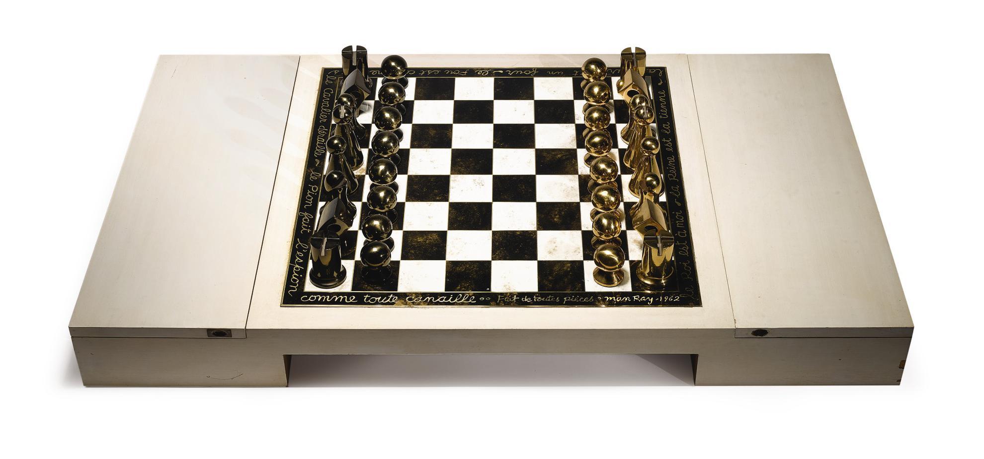 Man Ray-Chess Set-1966