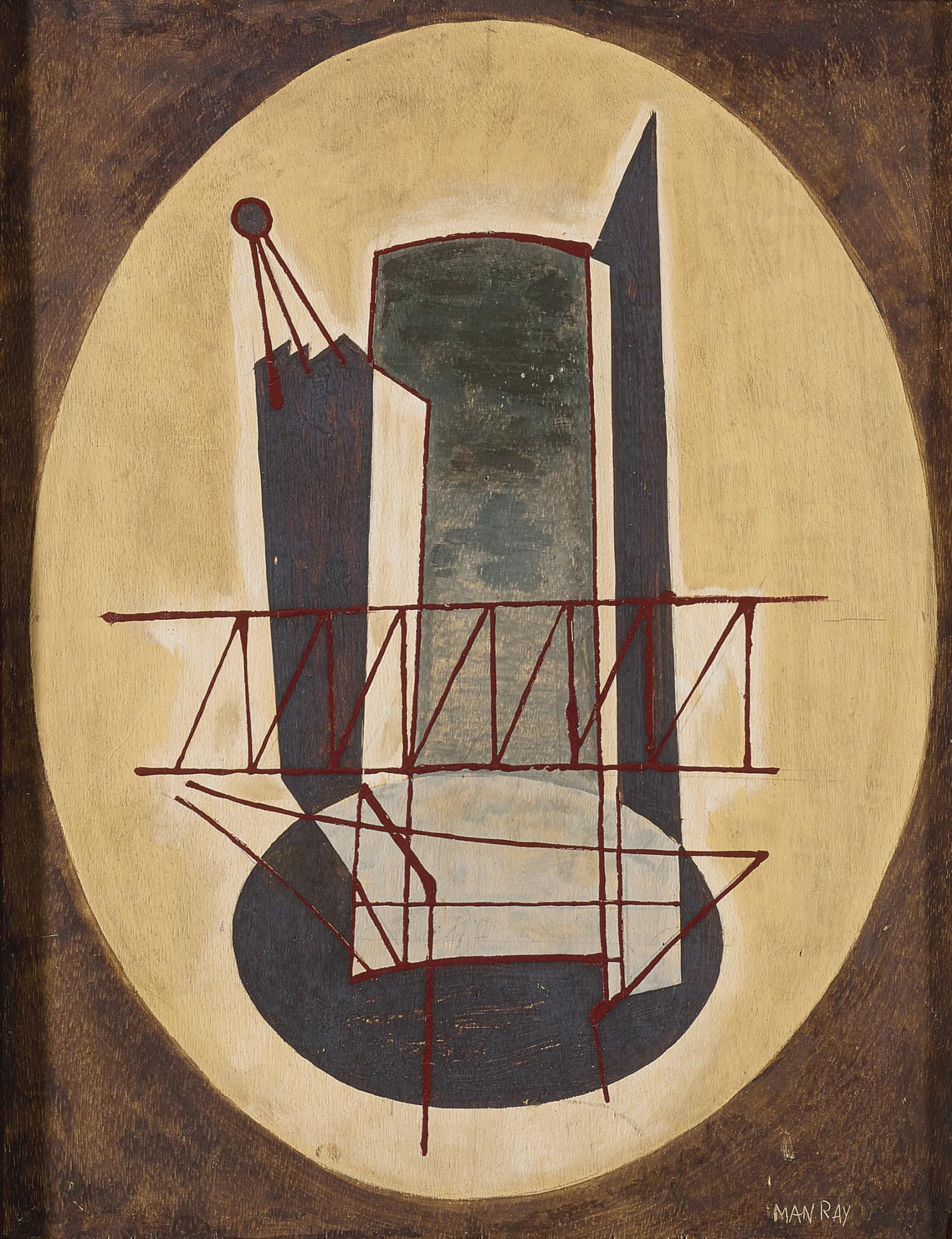 Man Ray-Le Bateau-1942