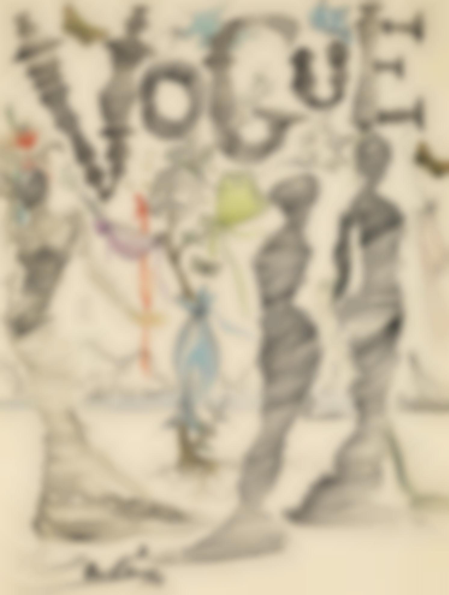 Salvador Dali-Illustration Pour Vogue-1944