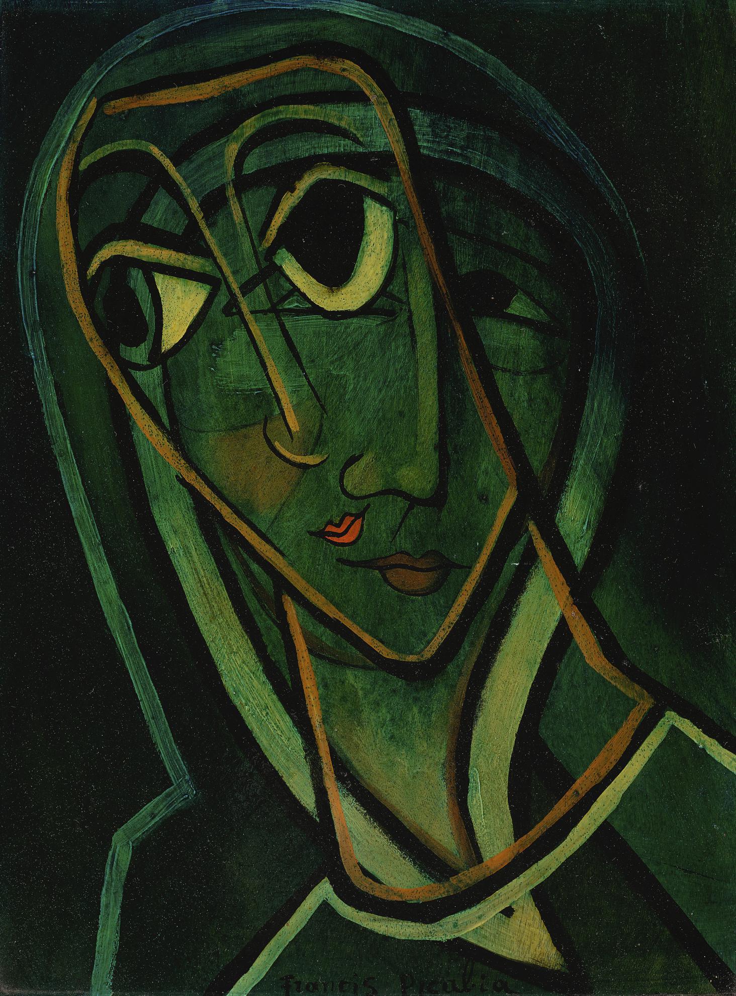Francis Picabia-Surimpression Madonne-1938