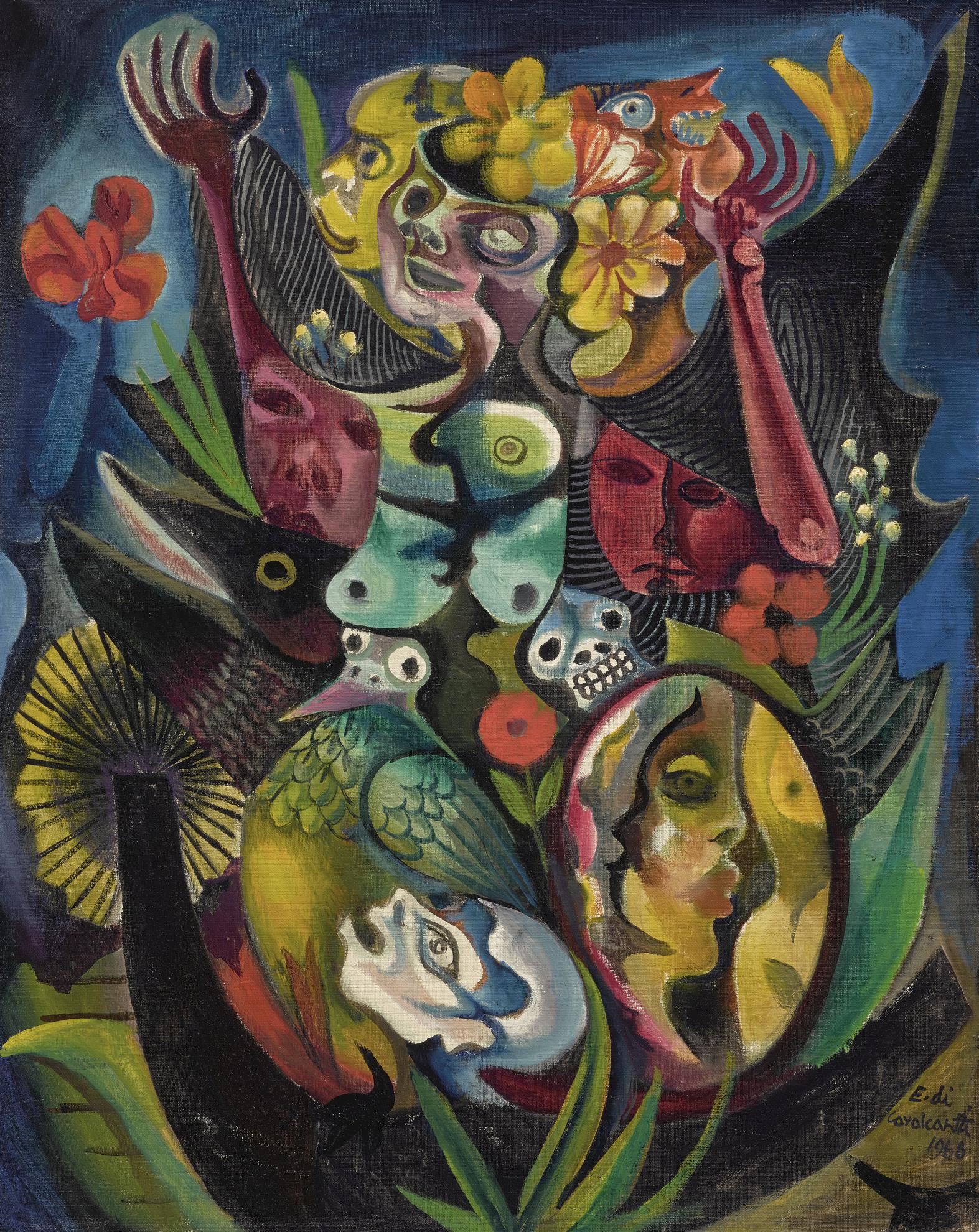 Emiliano di Cavalcanti-Untitled-1968