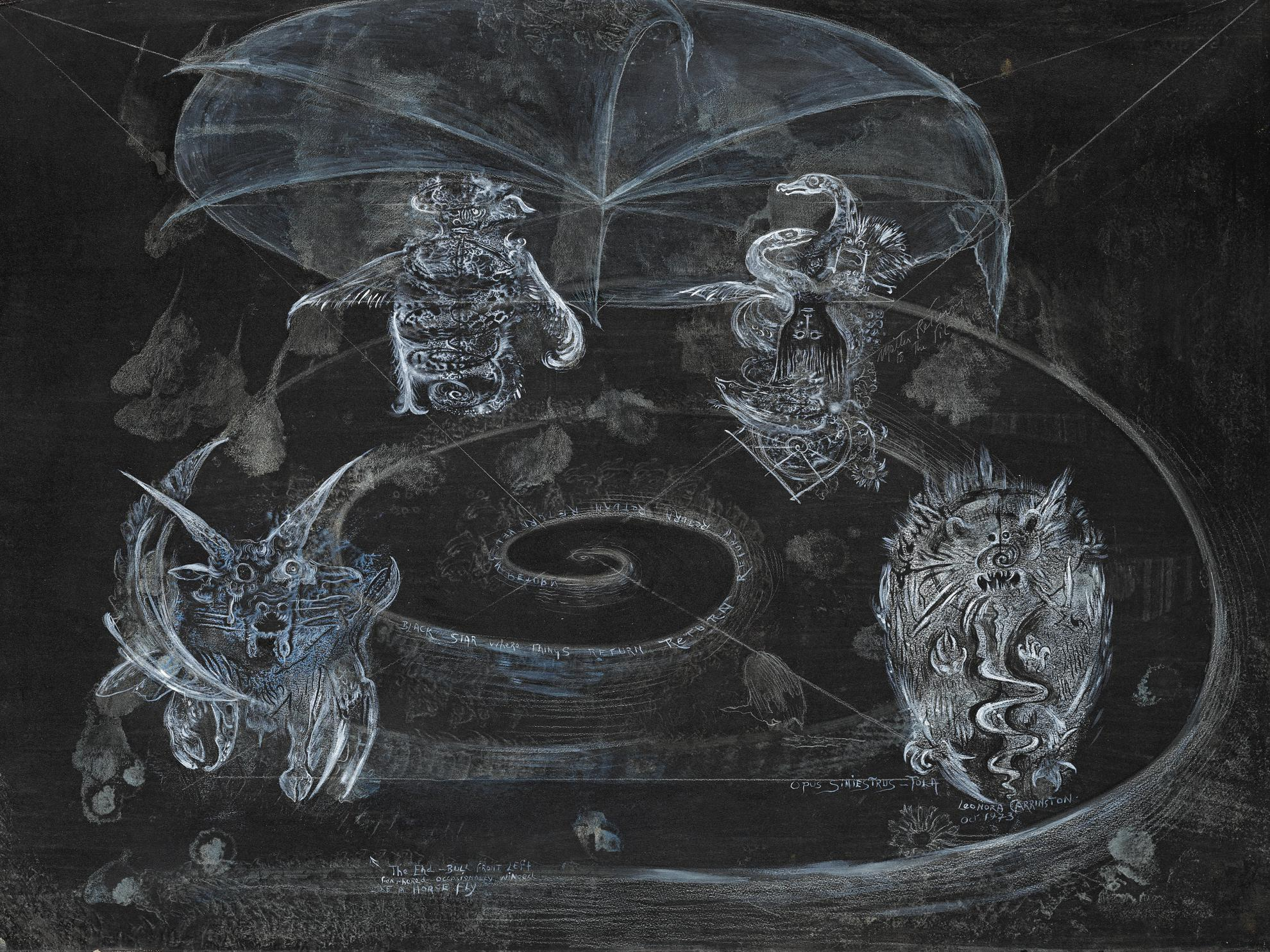 Leonora Carrington-Opus Siniestrus-Tola-1973