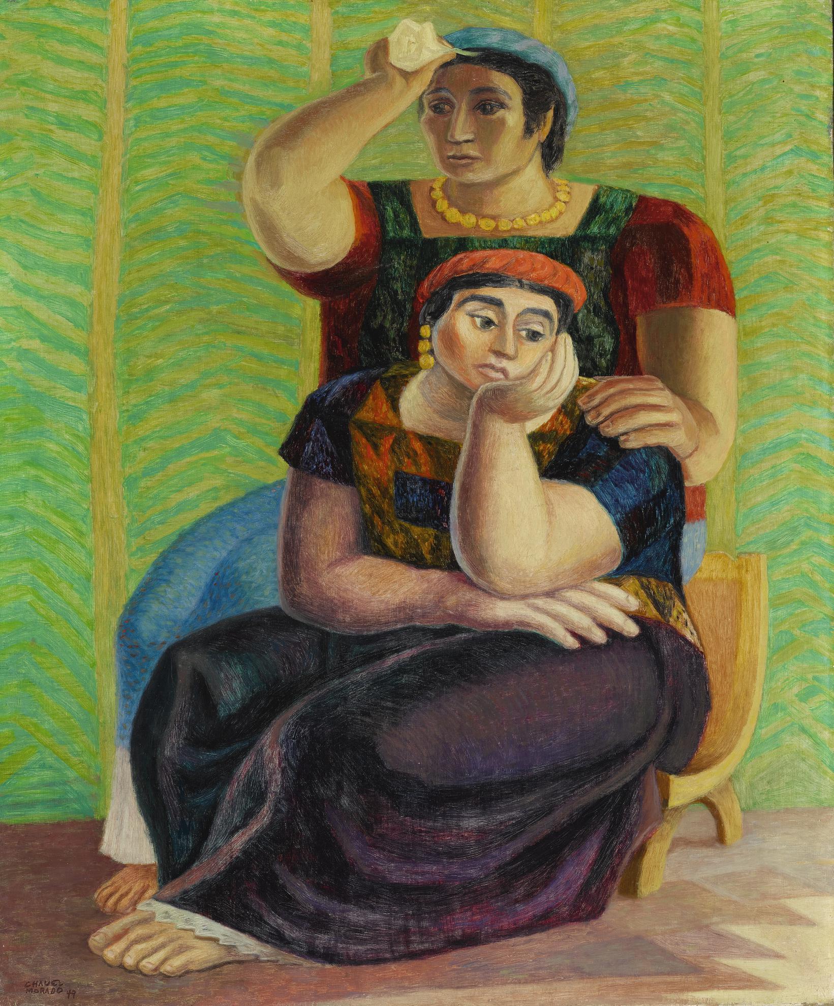 Jose Chavez Morado - En La Enramada-1949