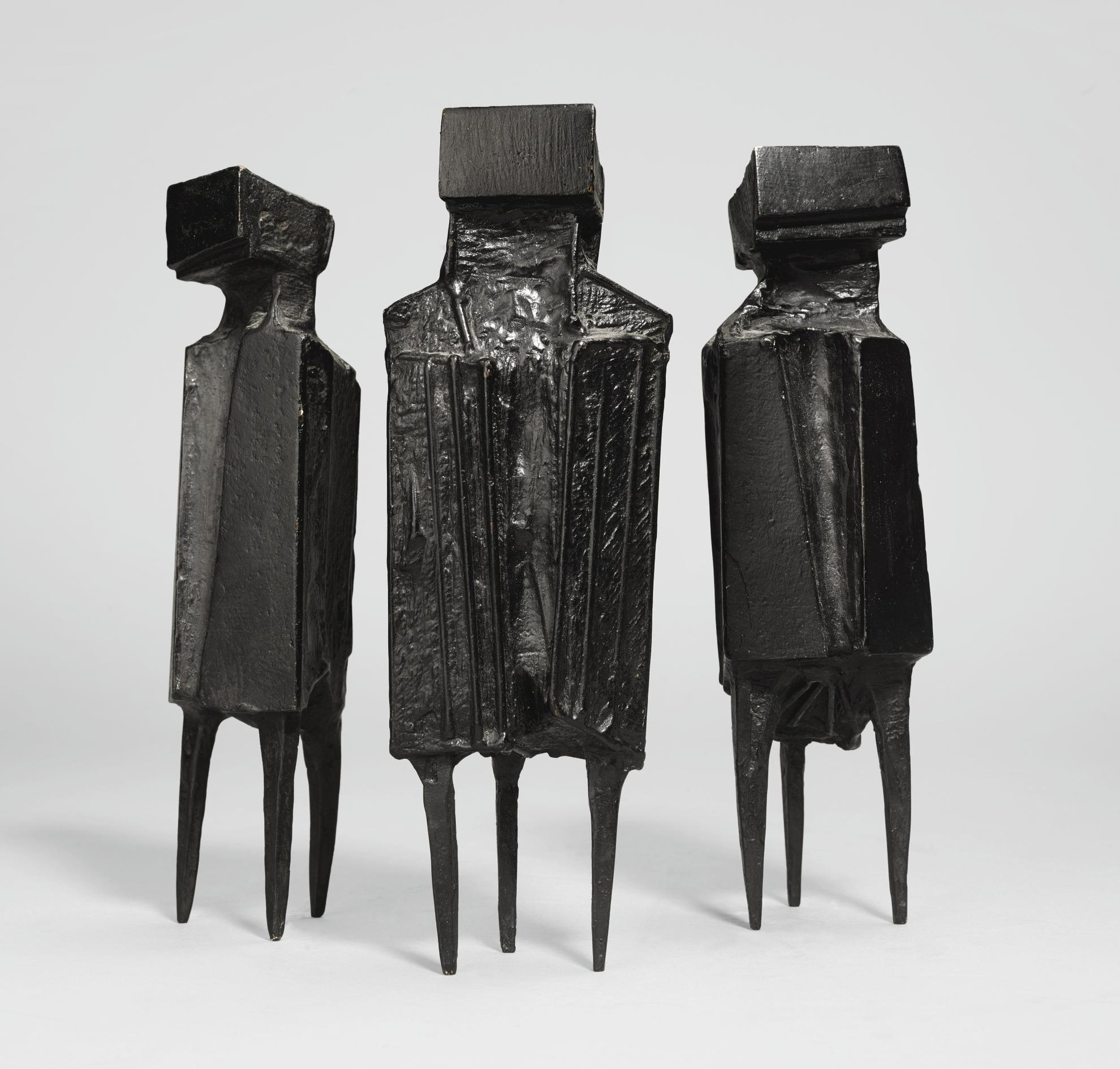 Lynn Chadwick-Three Watchers-1977