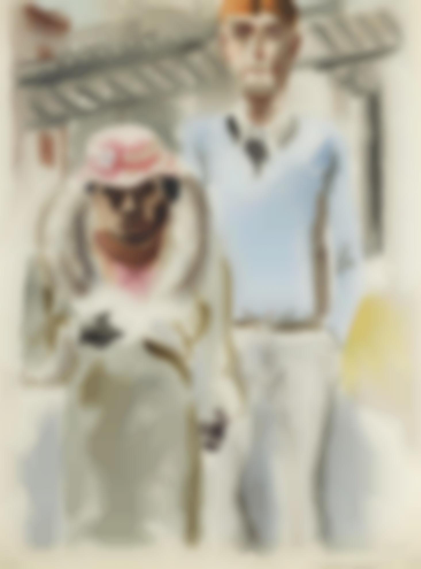 George Grosz-Black & White-1933
