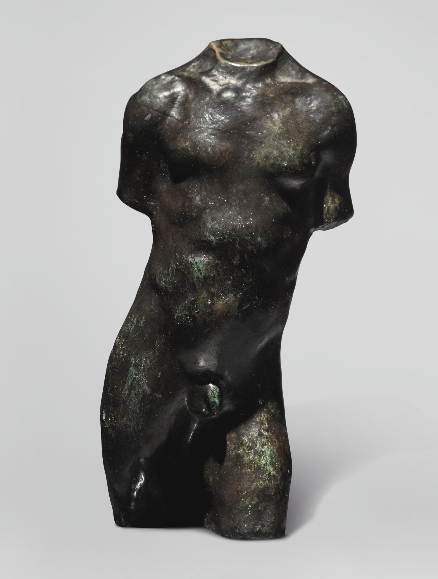 Auguste Rodin-Torse Dhomme, Etude Type A, Petit Modele-1900