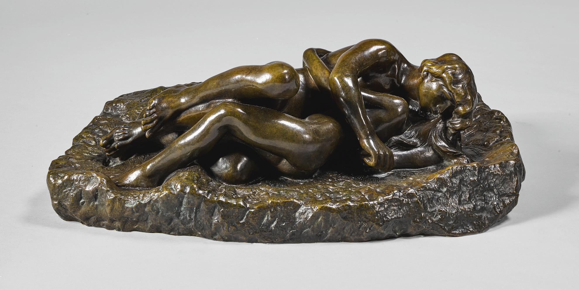 Auguste Rodin-Lamour Et Psyche-1886