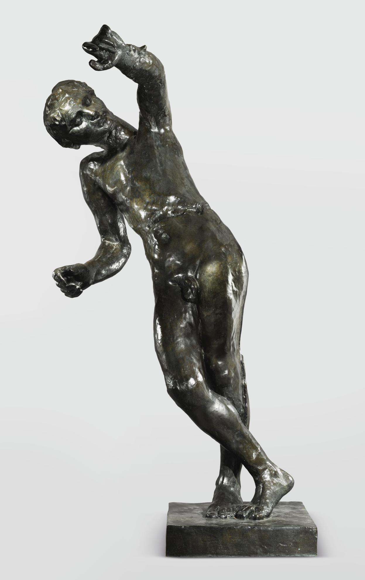 Auguste Rodin-La Genie Du Repos Eternel, Agrandissement Ou Grand Modele-1899