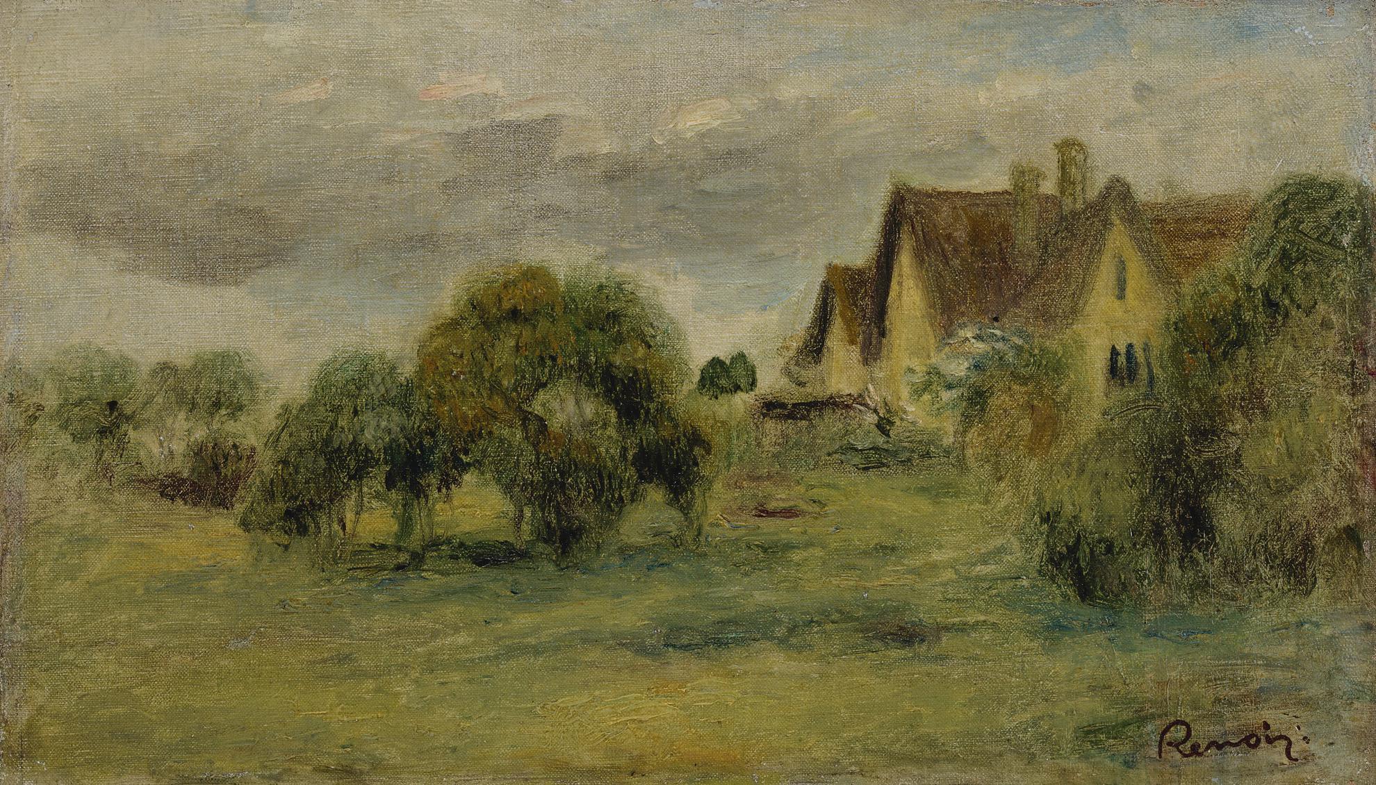 Pierre-Auguste Renoir-Paysage-1894