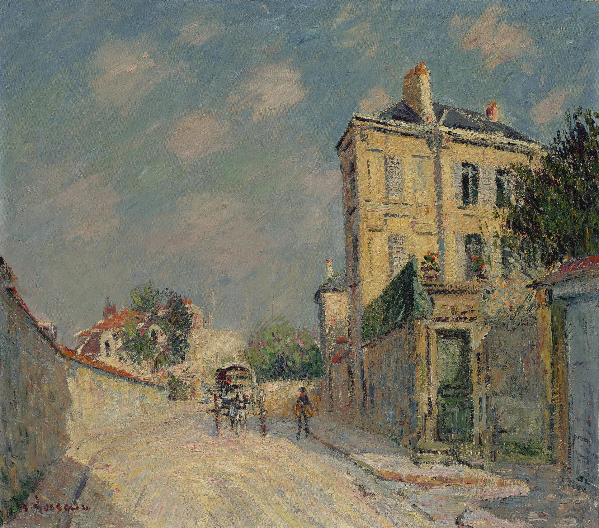 Gustave Loiseau-Environs De Paris-