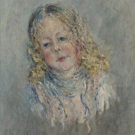 Claude Monet-Portrait Dandre Lauvray-1880
