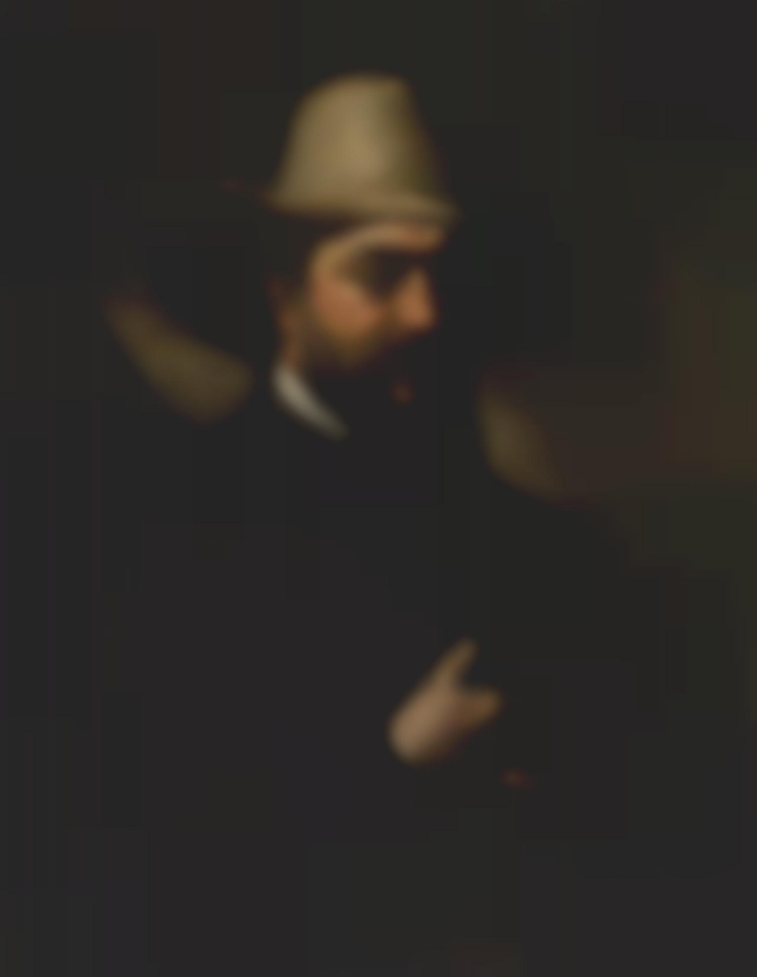 Gustave Courbet-Portrait Durbain Cuenot-
