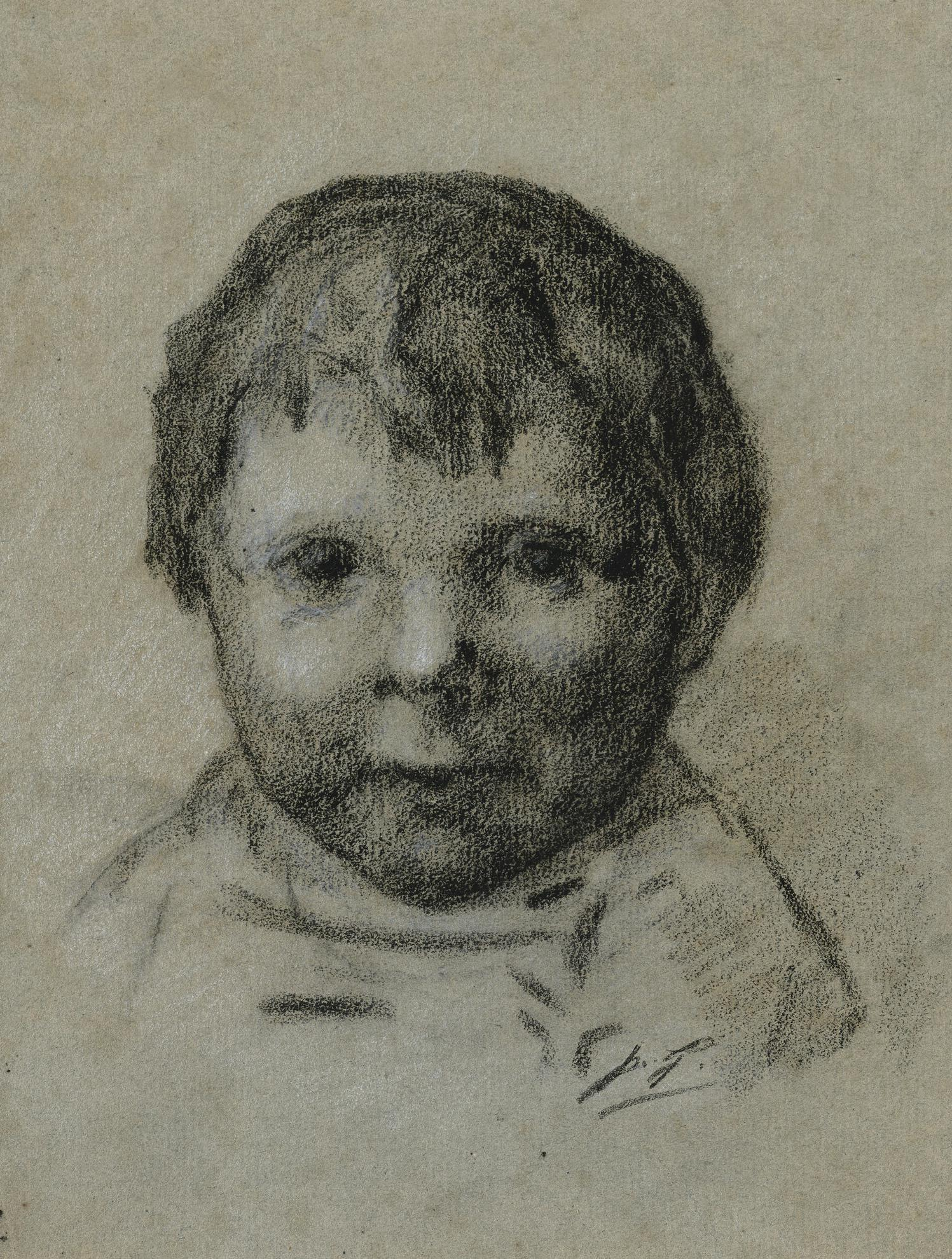 Paul Gauguin-Portrait Denfant-1889