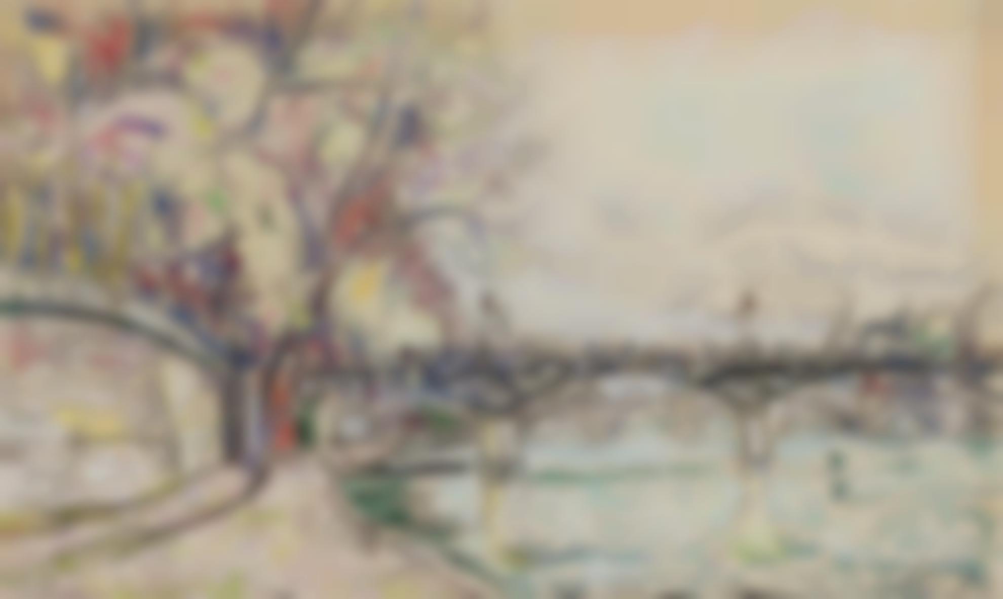 Paul Signac-Pont Des Arts-1928