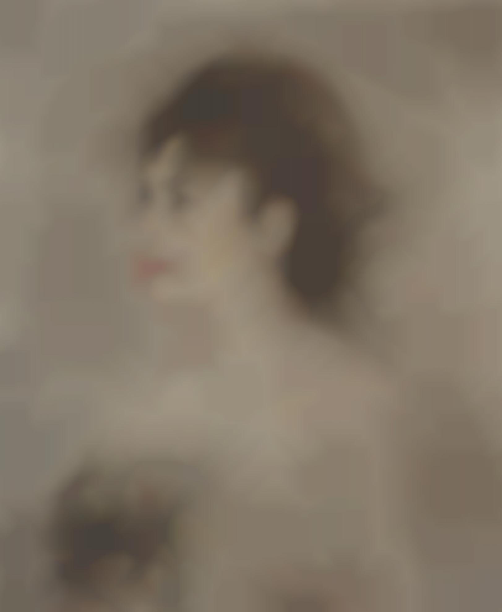 Edouard Manet-Jeune Femme Decollette-1882