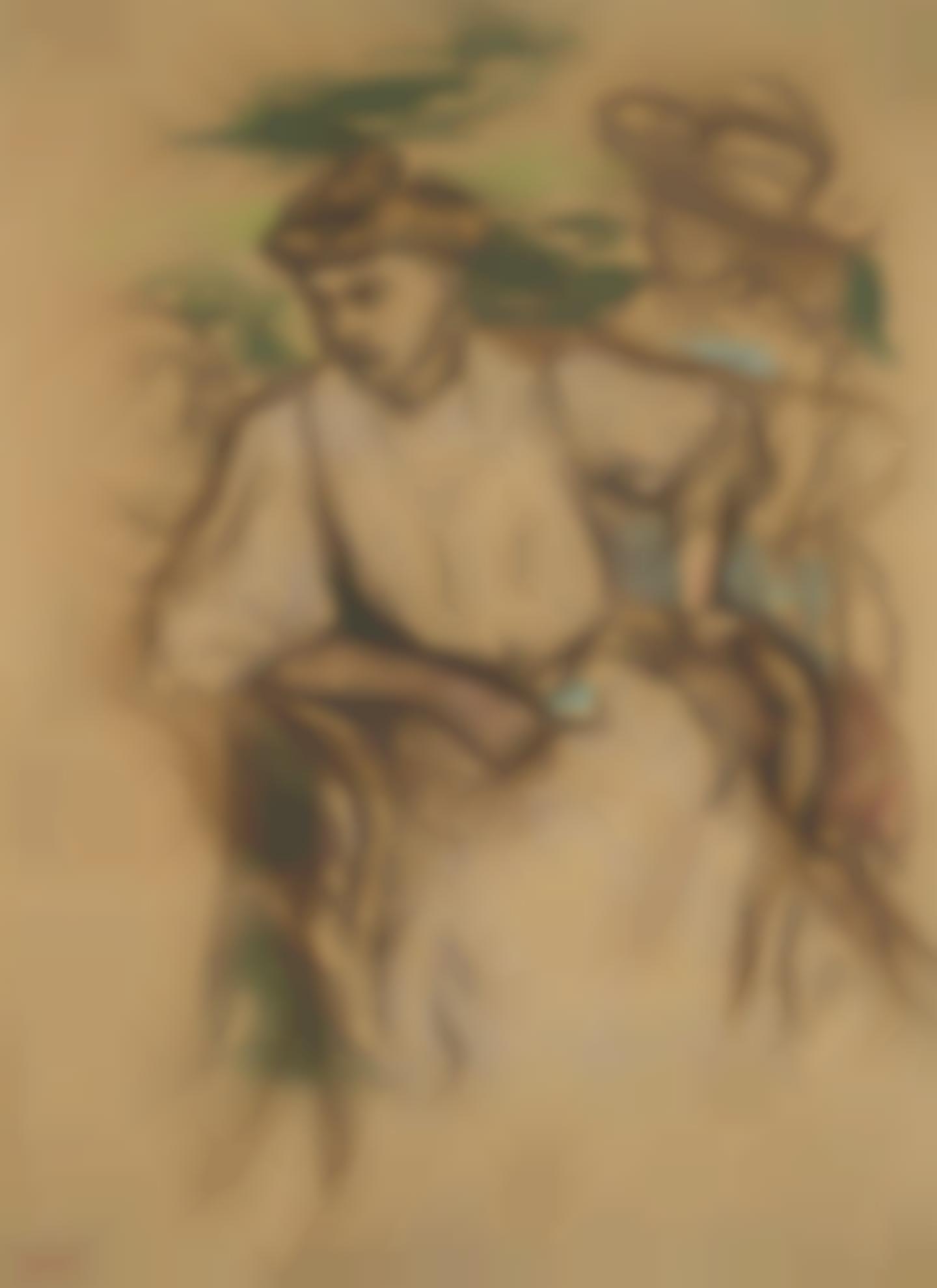 Edgar Degas-Jeune Femme Assise-