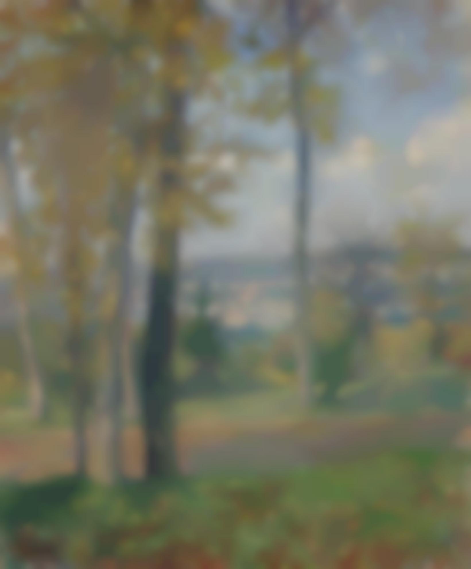 Henri Lebasque-Vue Du Parc De Saint-Cloud-1900