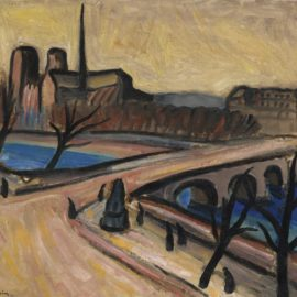 Charles Camoin-Le Pont De Larcheveche Et Le Chevet De Notre-Dame-1904