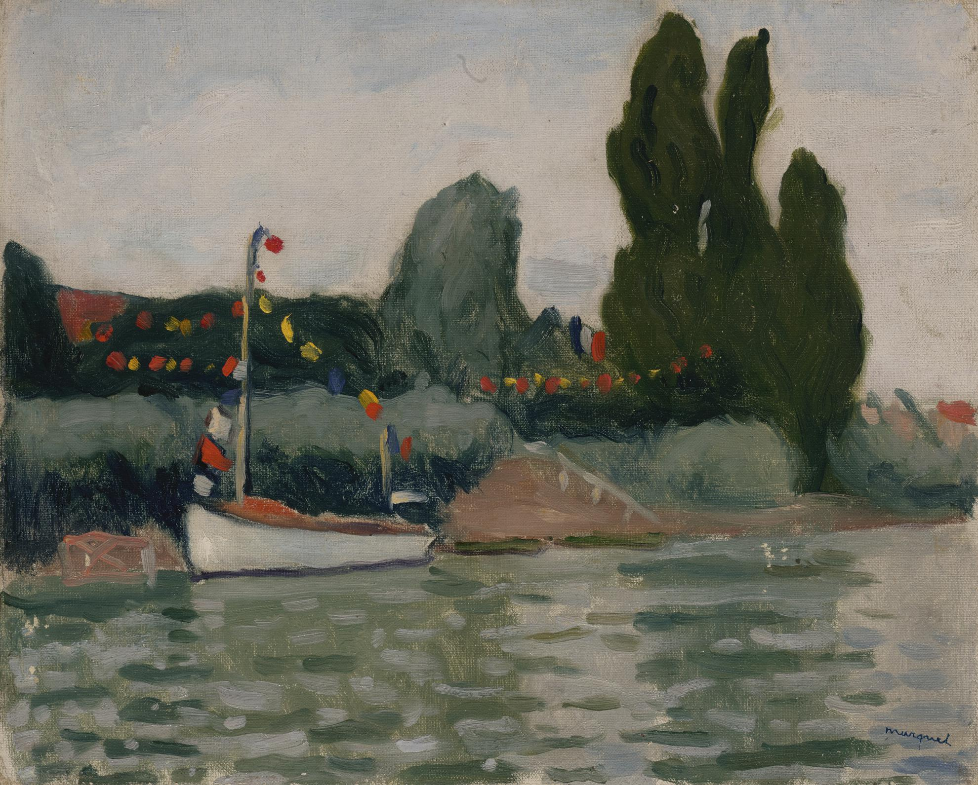 Albert Marquet-Poissy, Bateau Pavoise-1913