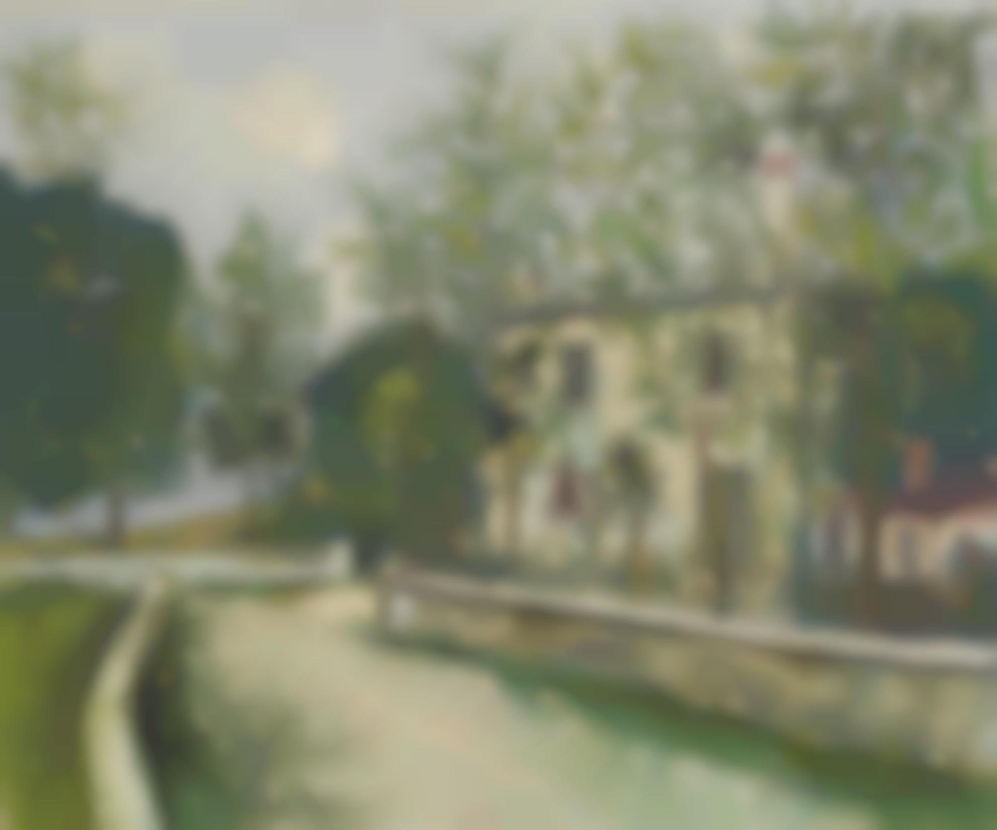Maurice Utrillo-Maisons Blanches, Suresnes (Hauts-De-Seine)-1942