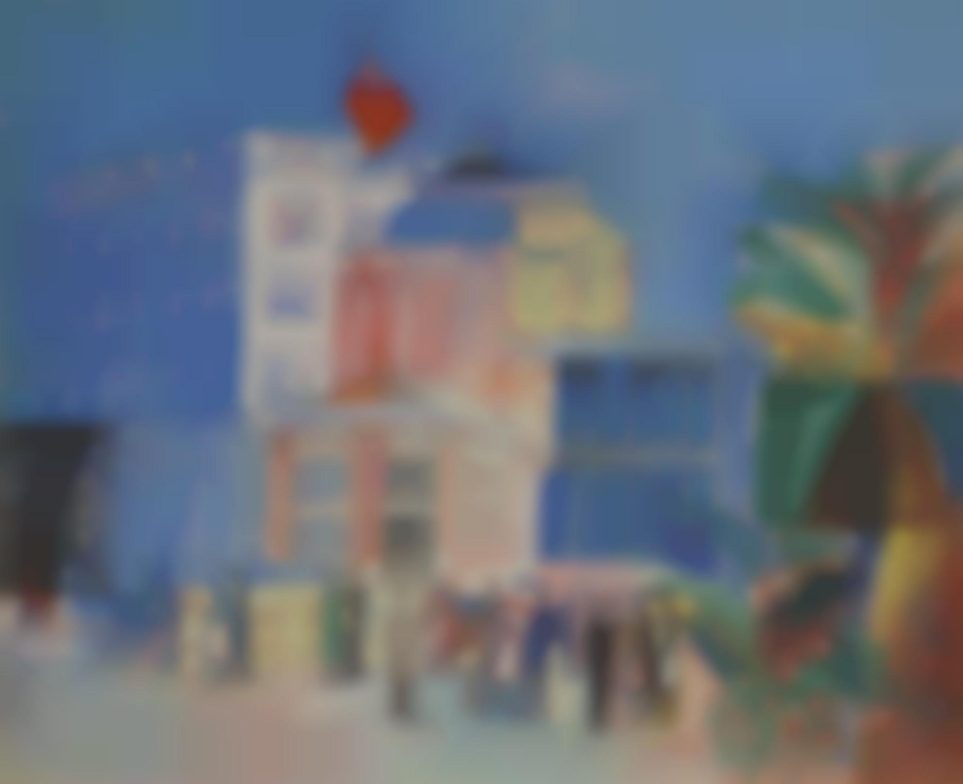 Jean Dufy-Beaulieu-Sur-Mer, Lhotel Bristol-1926