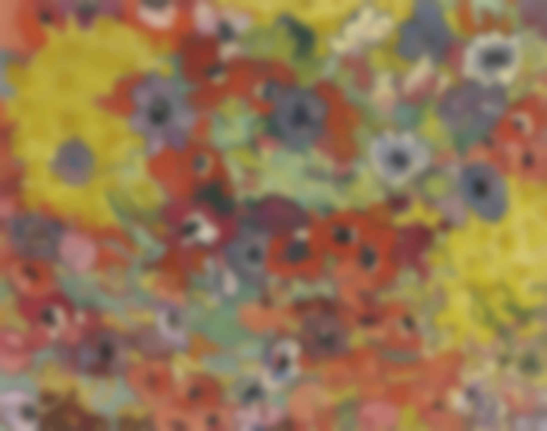 Louis Valtat-Parterre De Fleurs-1906