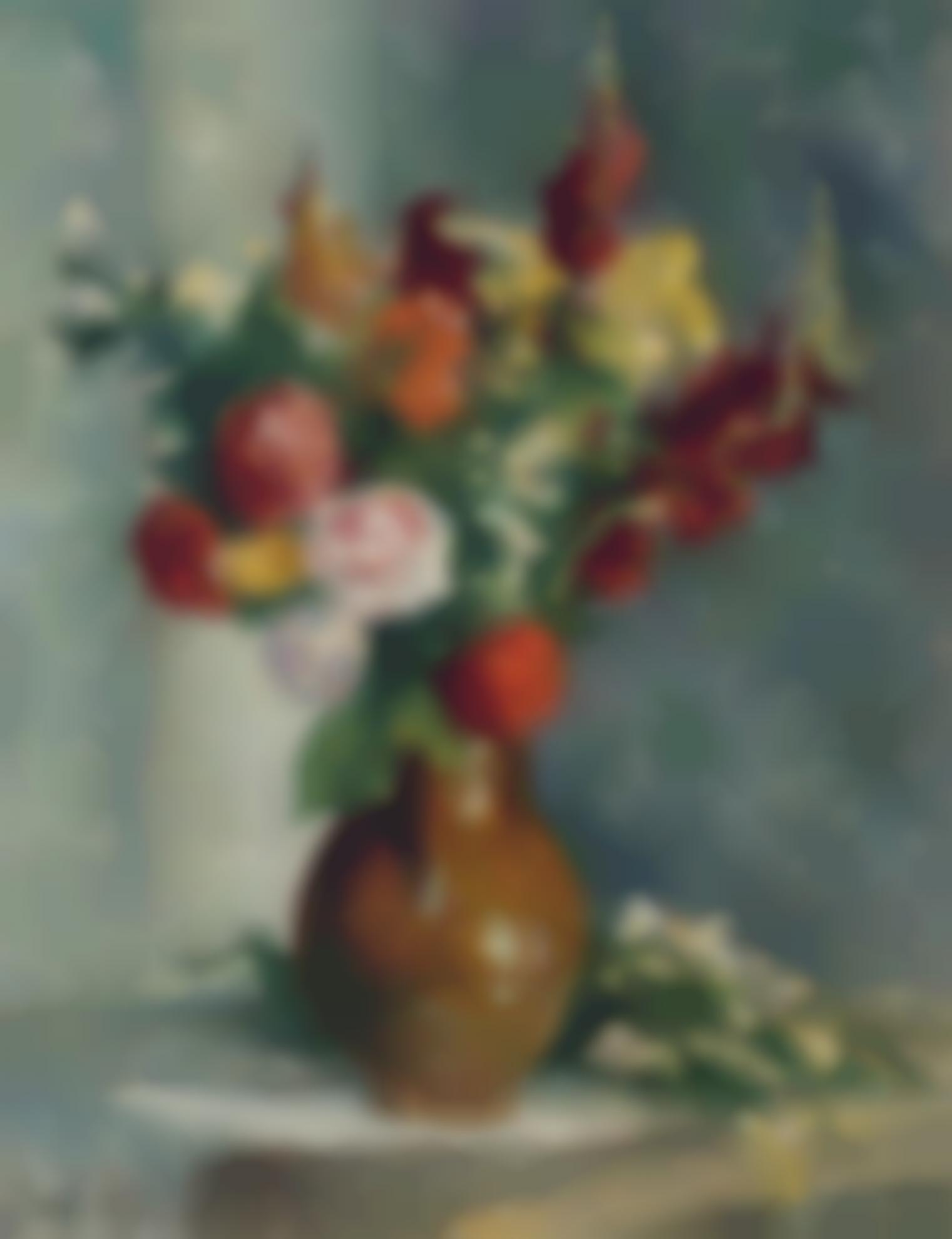 Maximilien Luce-Vase De Fleurs-1907