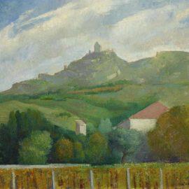 Angel Zarraga-Paysage Dete-1921
