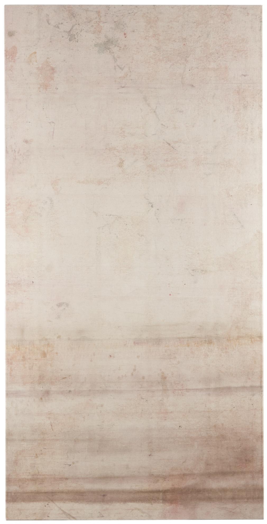 Fredrik Vaerslev-Untitled (Canopy Painting: Red Monochrome)-2012