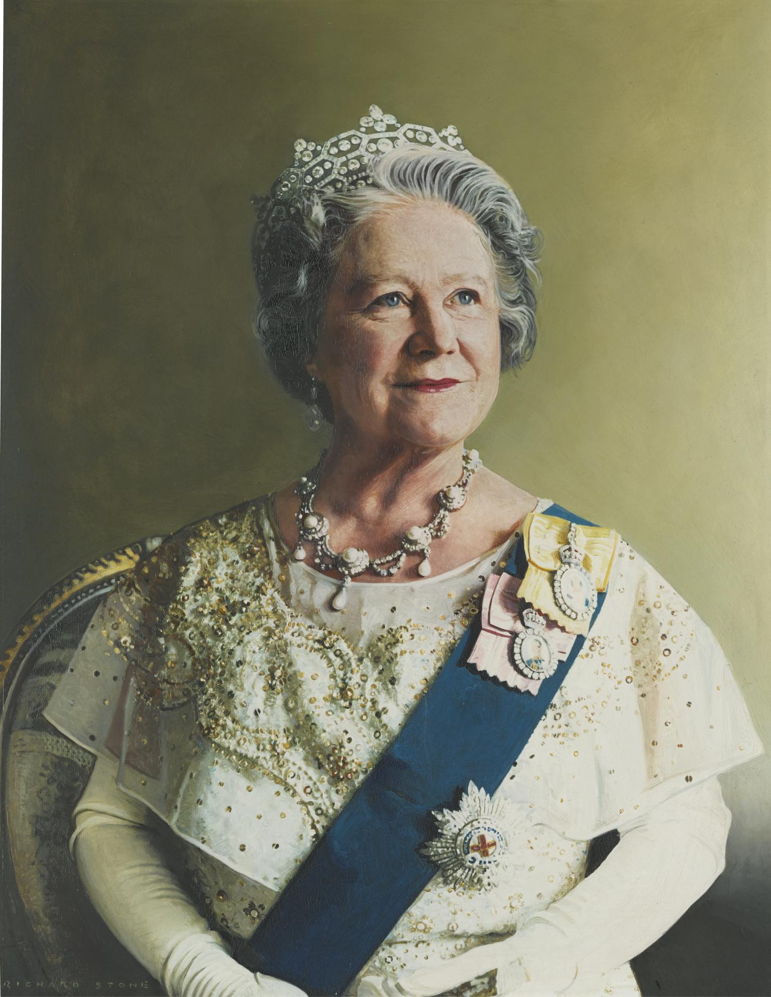 Richard Stone - Hrh The Queen Mother-1993