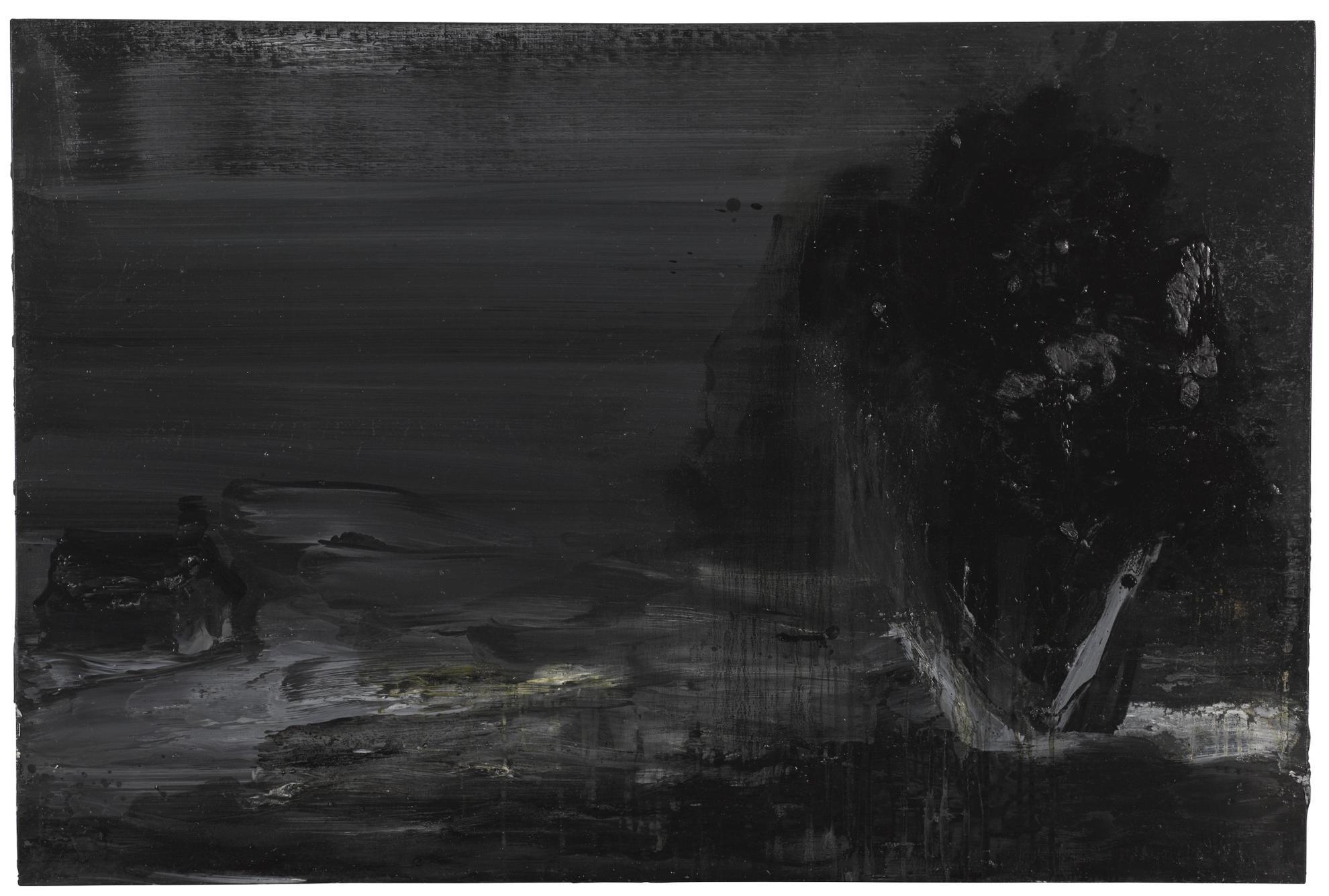 Yan Pei-Ming-International Landscape No. 6-1998