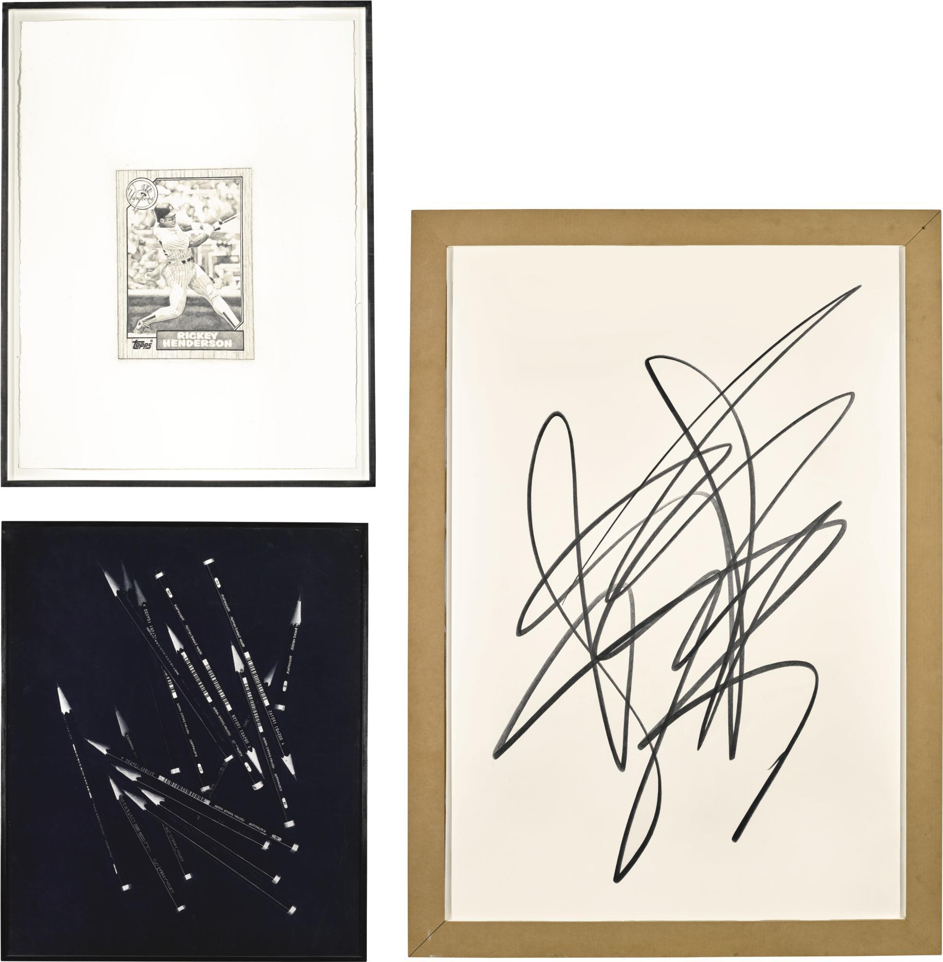Karl Haendel-(i) Rickey #6; (ii) Wasserlack #3; (iii) Scribble #5-2005