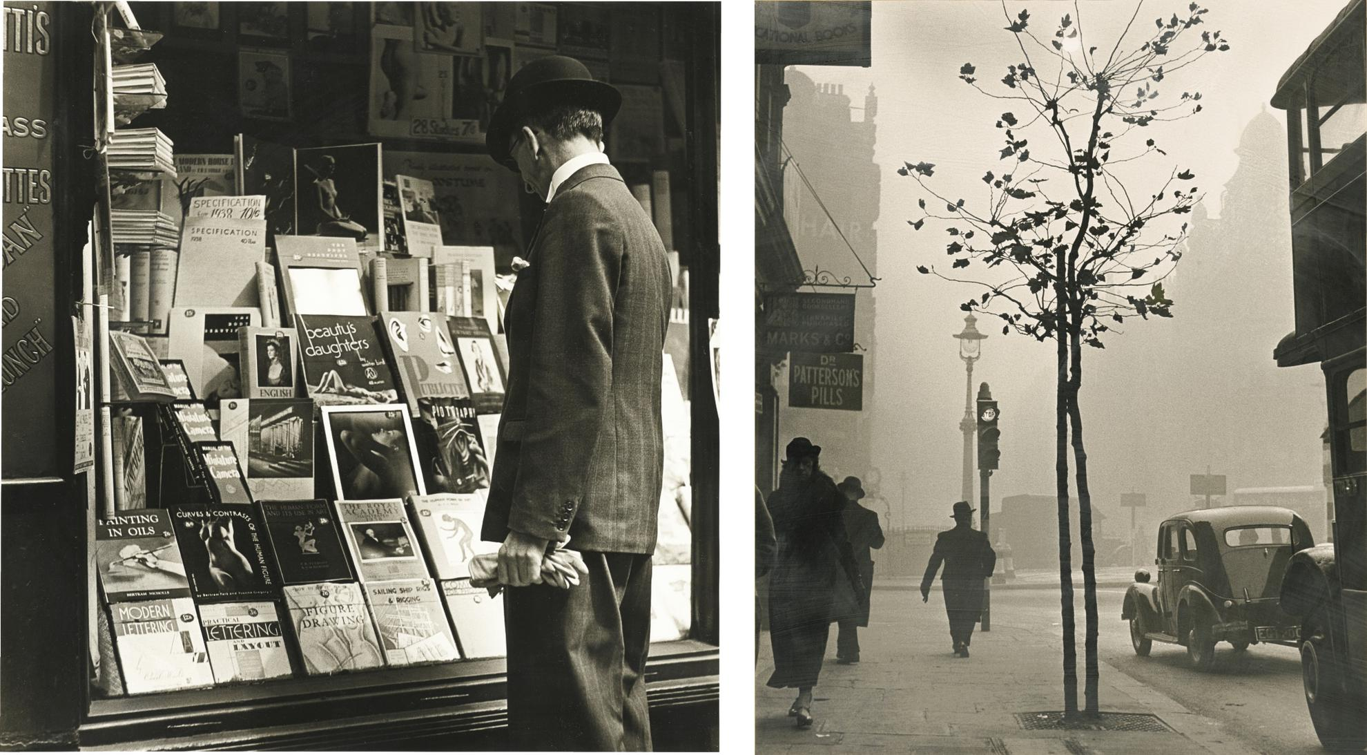 Wolfgang Suschitzky-Two Views Of London - Charing Cross Road-1989