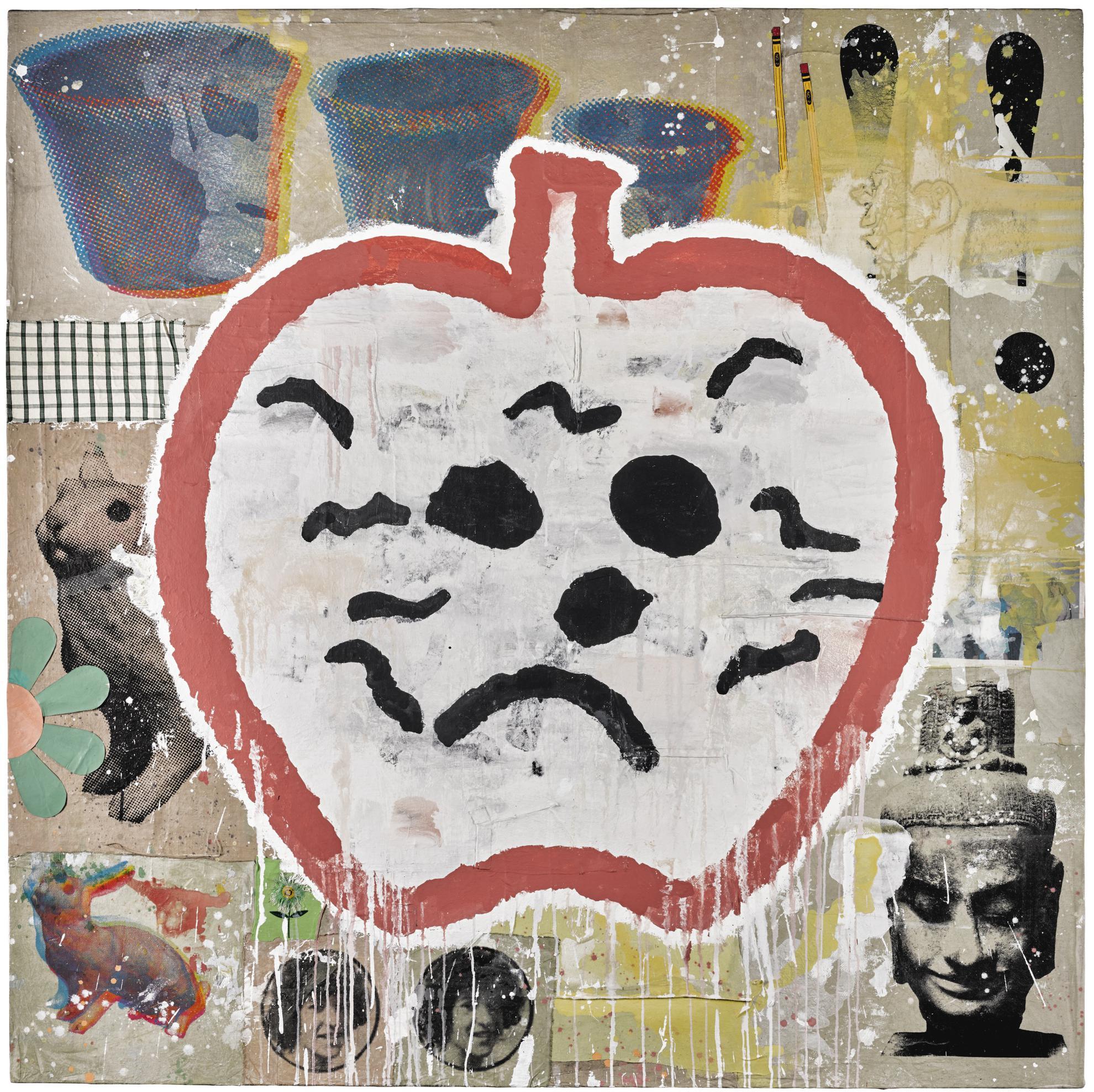 Donald Baechler-Discouraged Deeds-2004