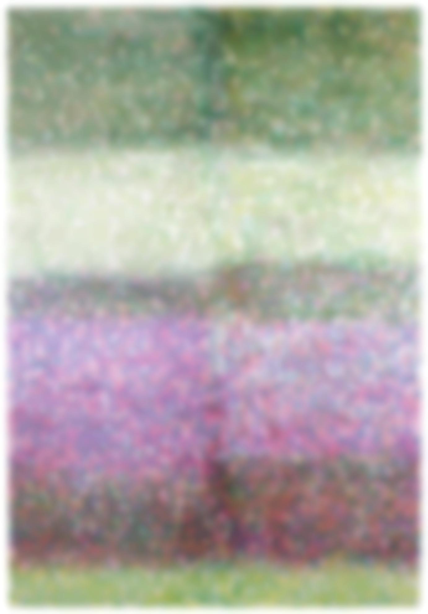 Parker Ito-Inkjet Painting #11 (8 Color Ink, Variation)-2014