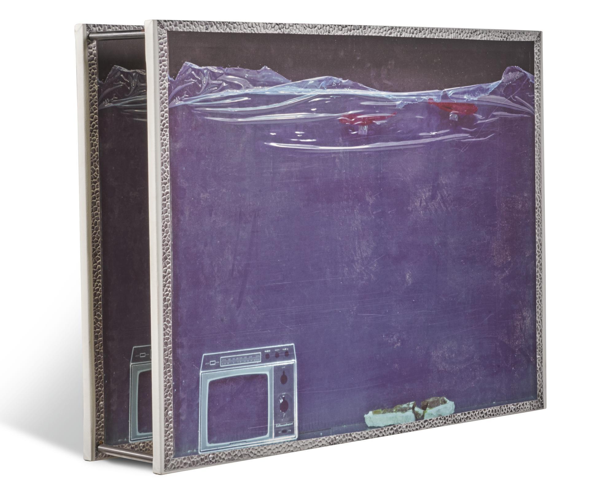 Simon Denny-Multimedia Aquarium 5: Coma-2009