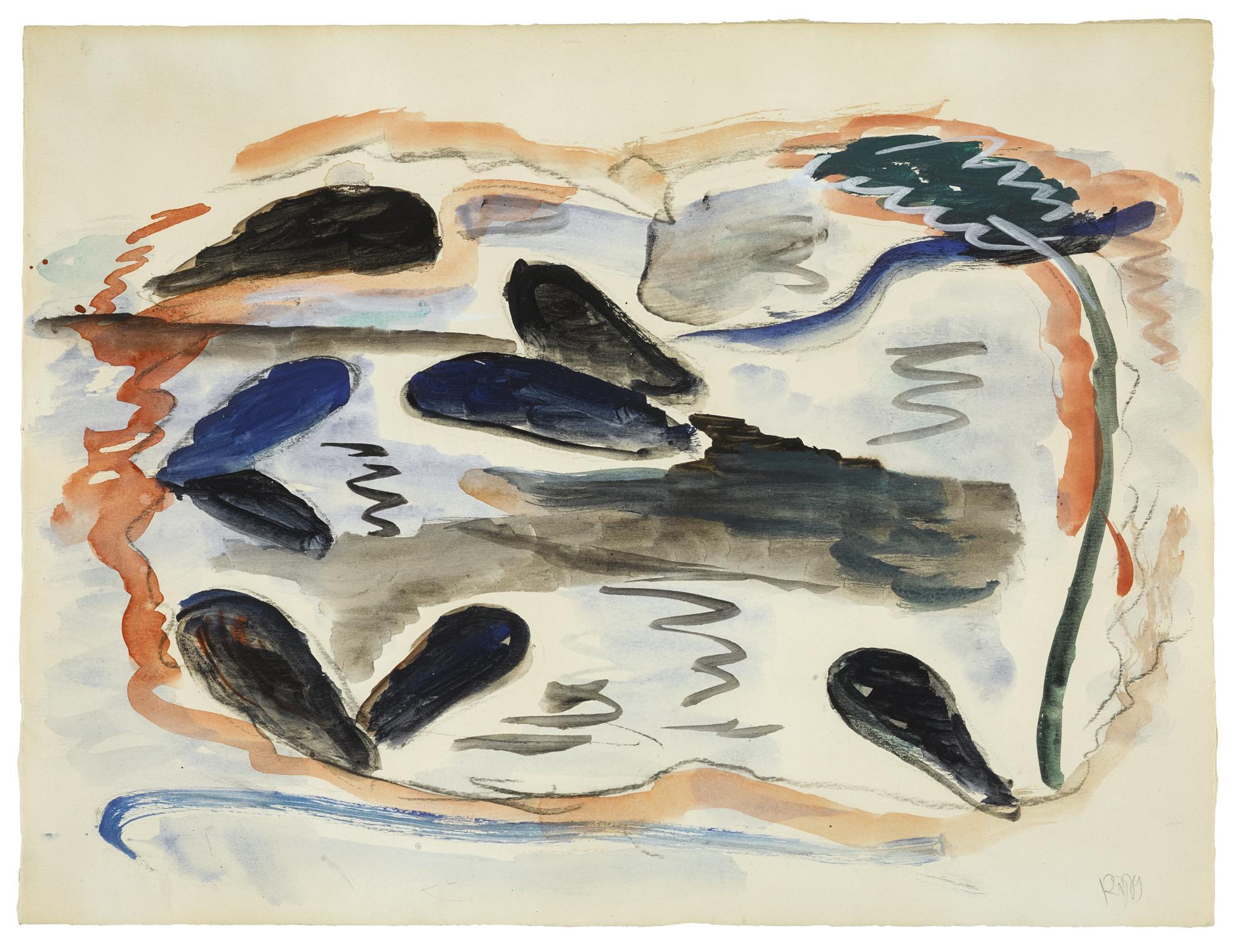 Rene Daniels-Mosselen (Mussels)-1979