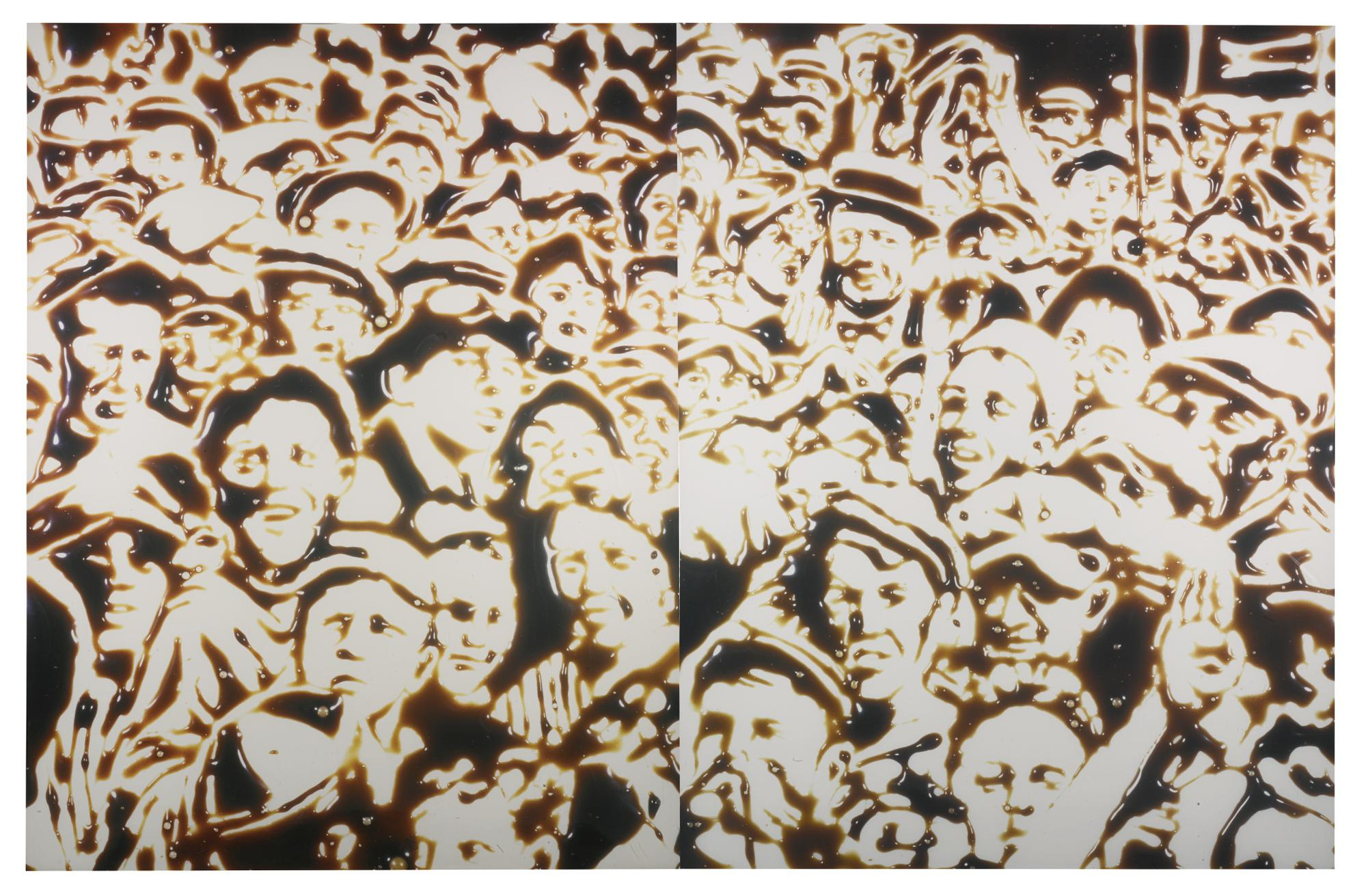 Vik Muniz-Summer 1999 (Chocolate Syrup Series)-1999