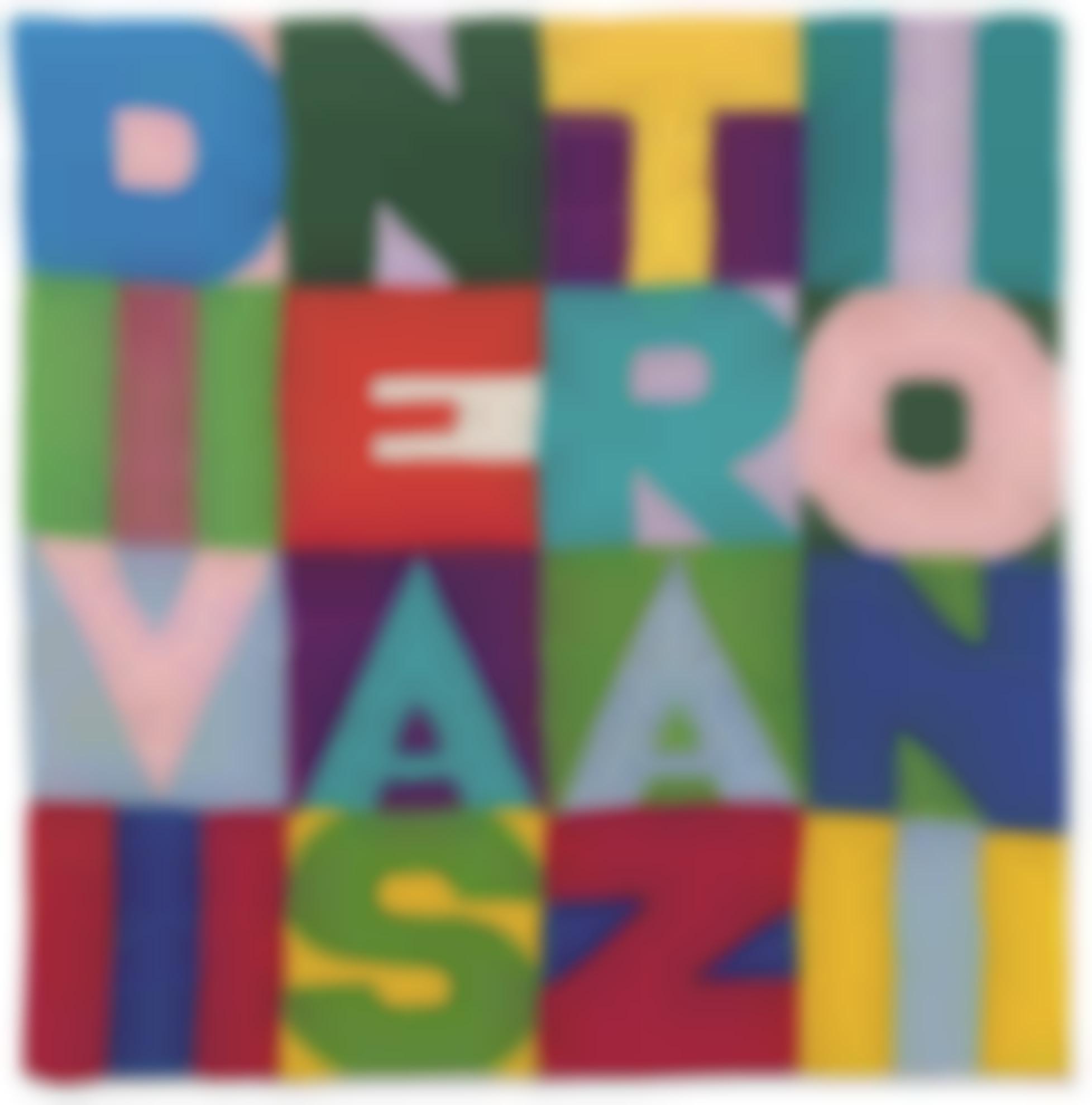 Alighiero Boetti-Divine Astrazioni-1990