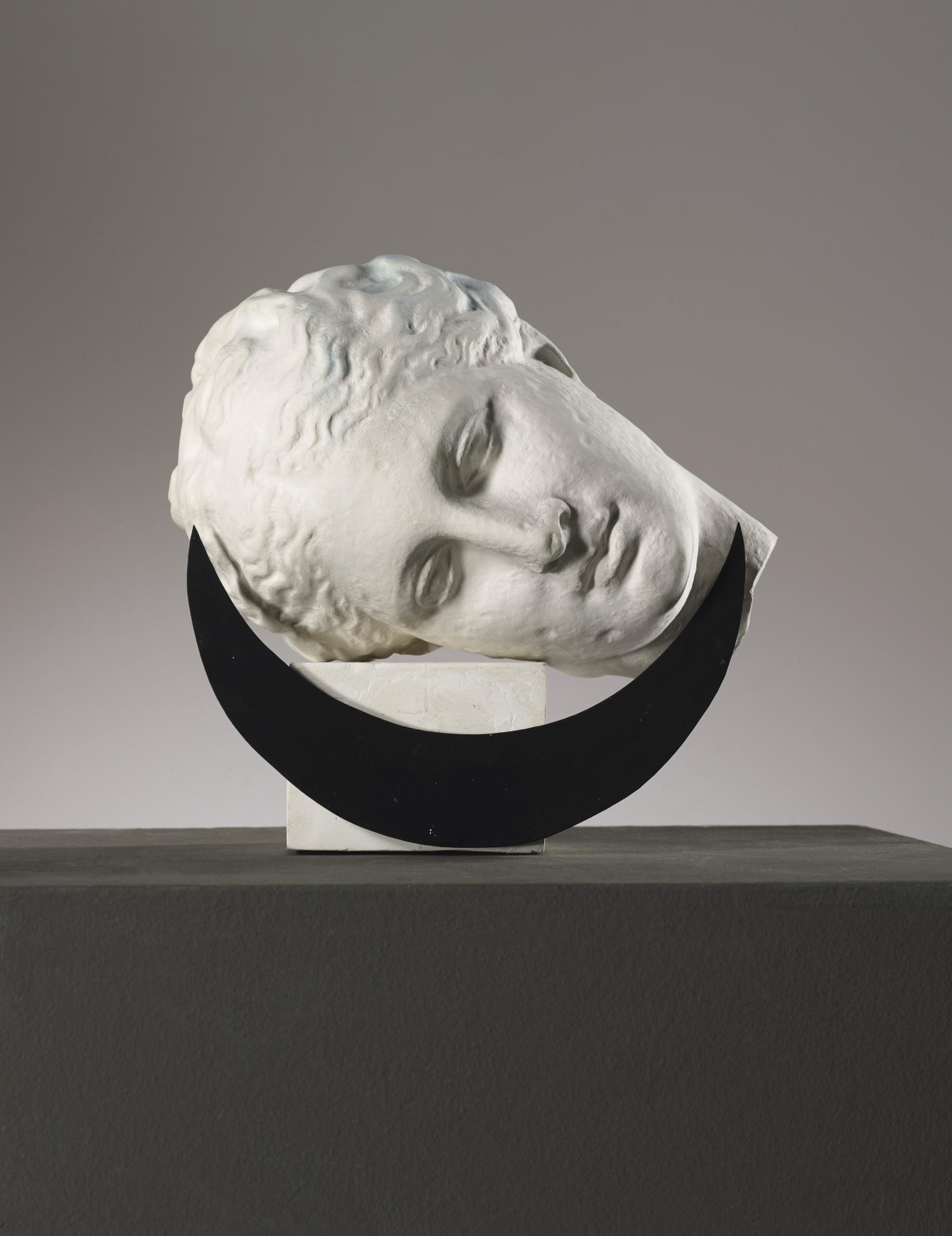 Claudio Parmiggiani-Luna (Versione Con Pigmento Verde)-1986
